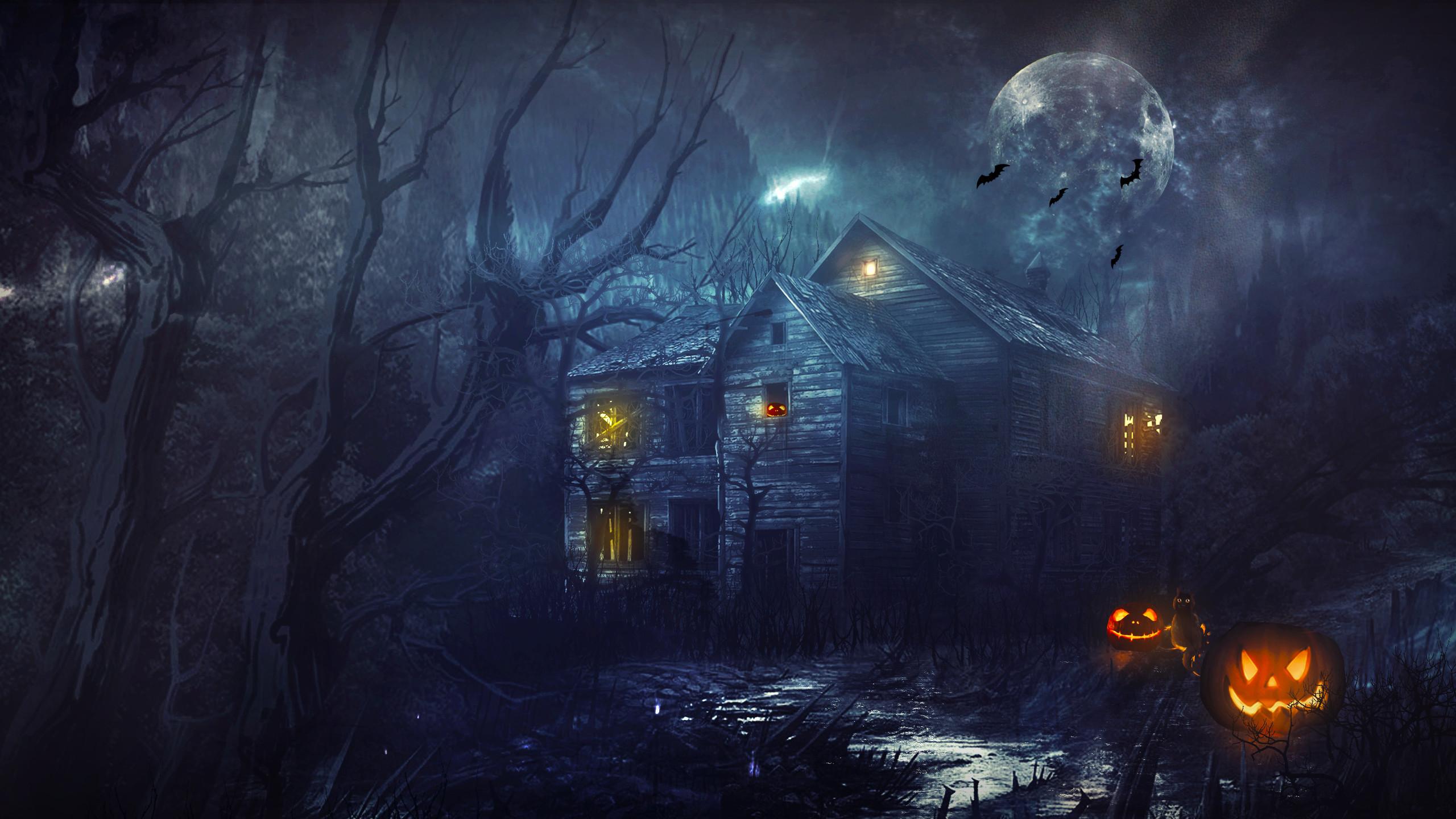 Backgrounds Halloween ·①
