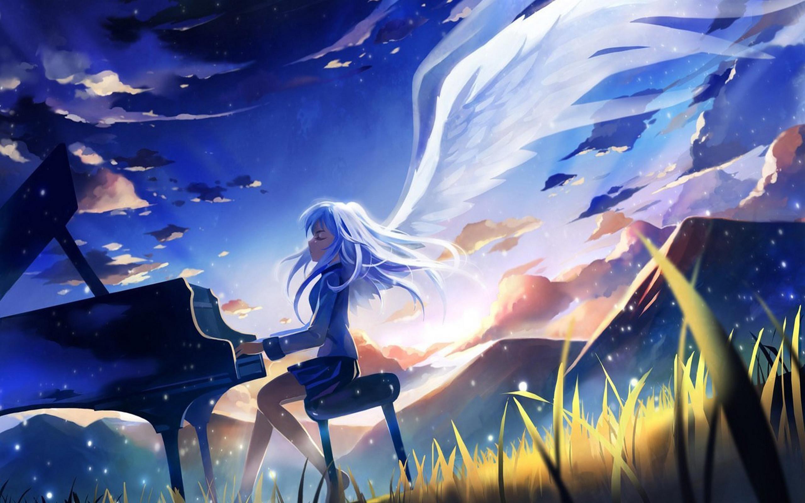 Angel Desktop Backgrounds Wallpapertag