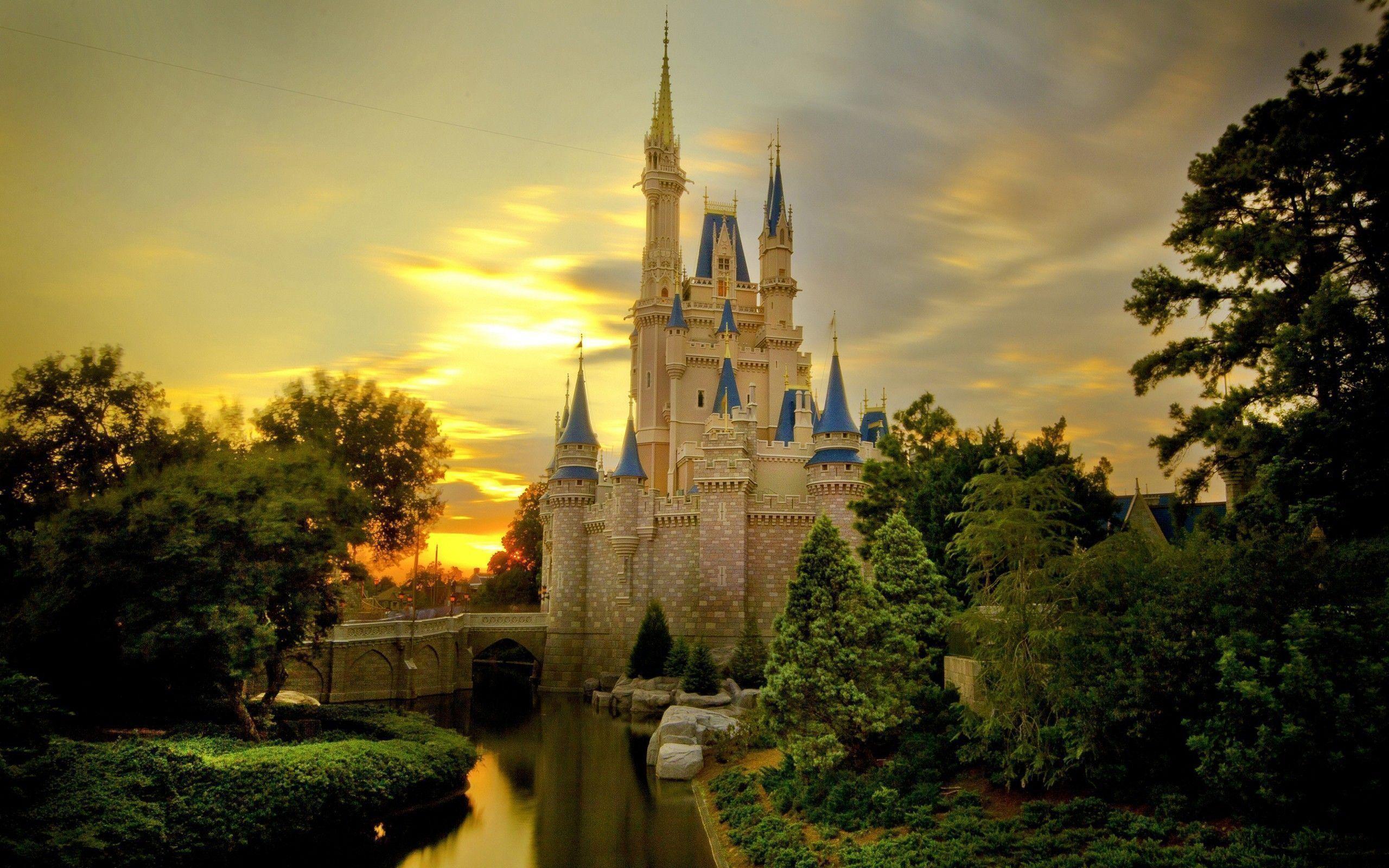 Disney Castle Background ·① WallpaperTag