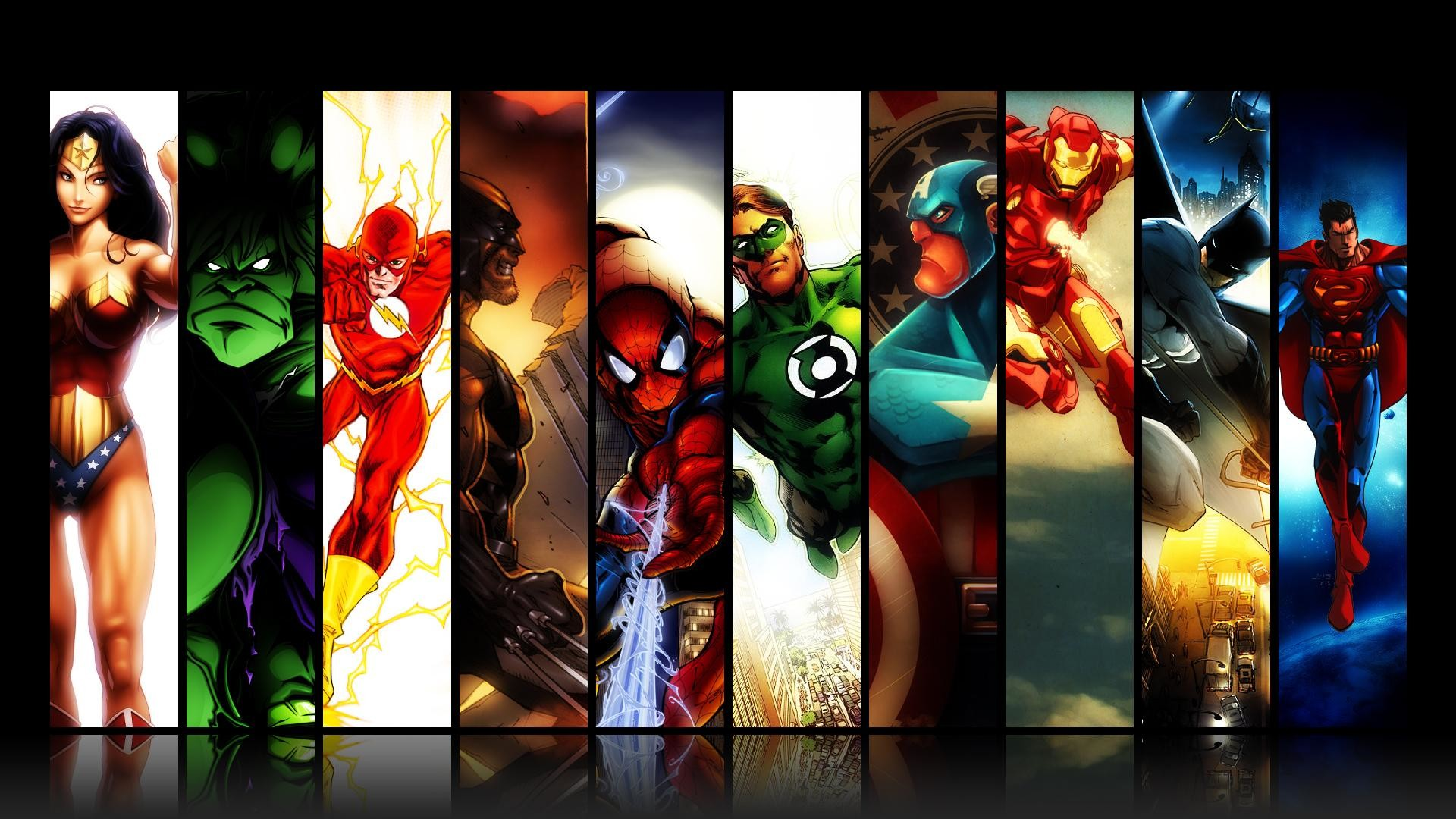 Superheroes Wallpapers ·① WallpaperTag