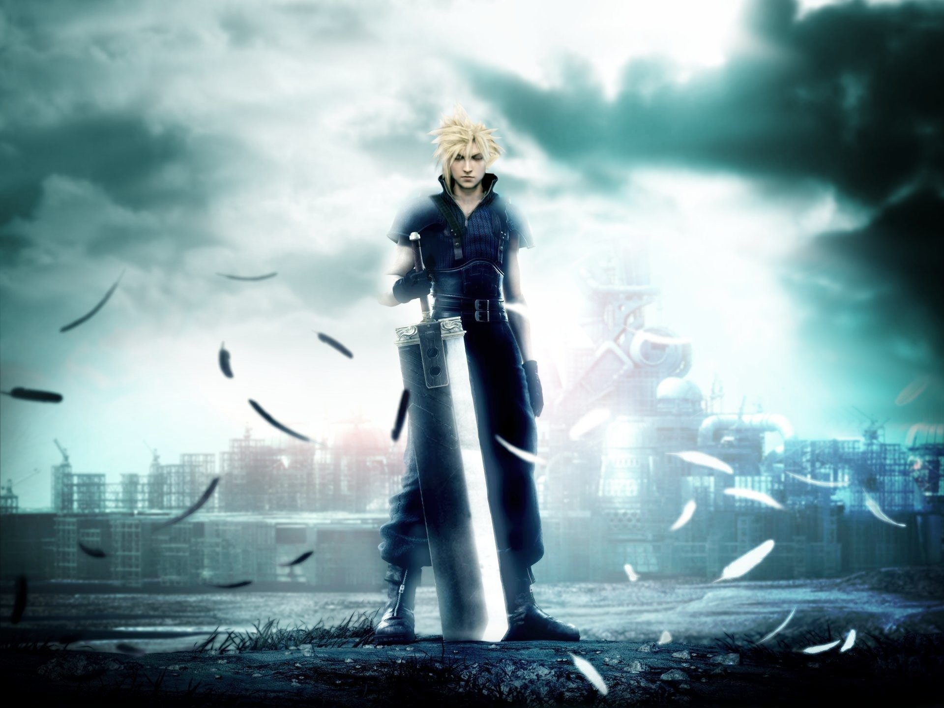 Final Fantasy 7 Advent Children Wallpaper Wallpapertag