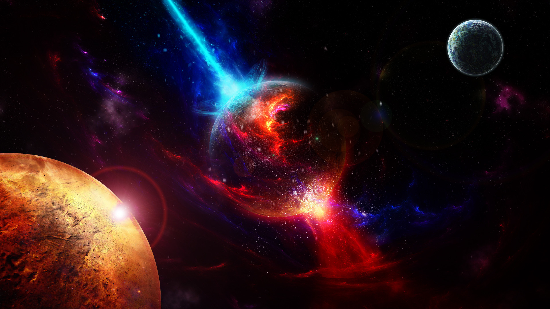 Space Wallpapers 1920x1080 Full Hd Aoutos Hd Wallpapers