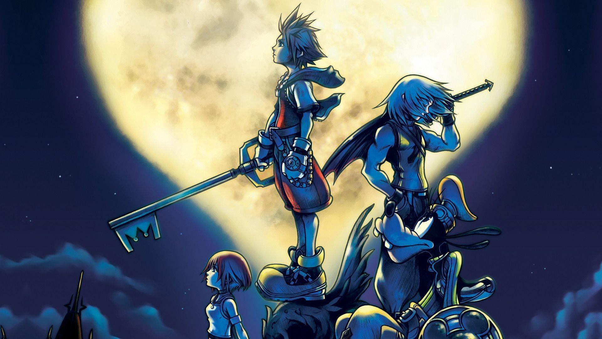 Kingdom Hearts 2 Wallpaper Download Free Stunning Hd