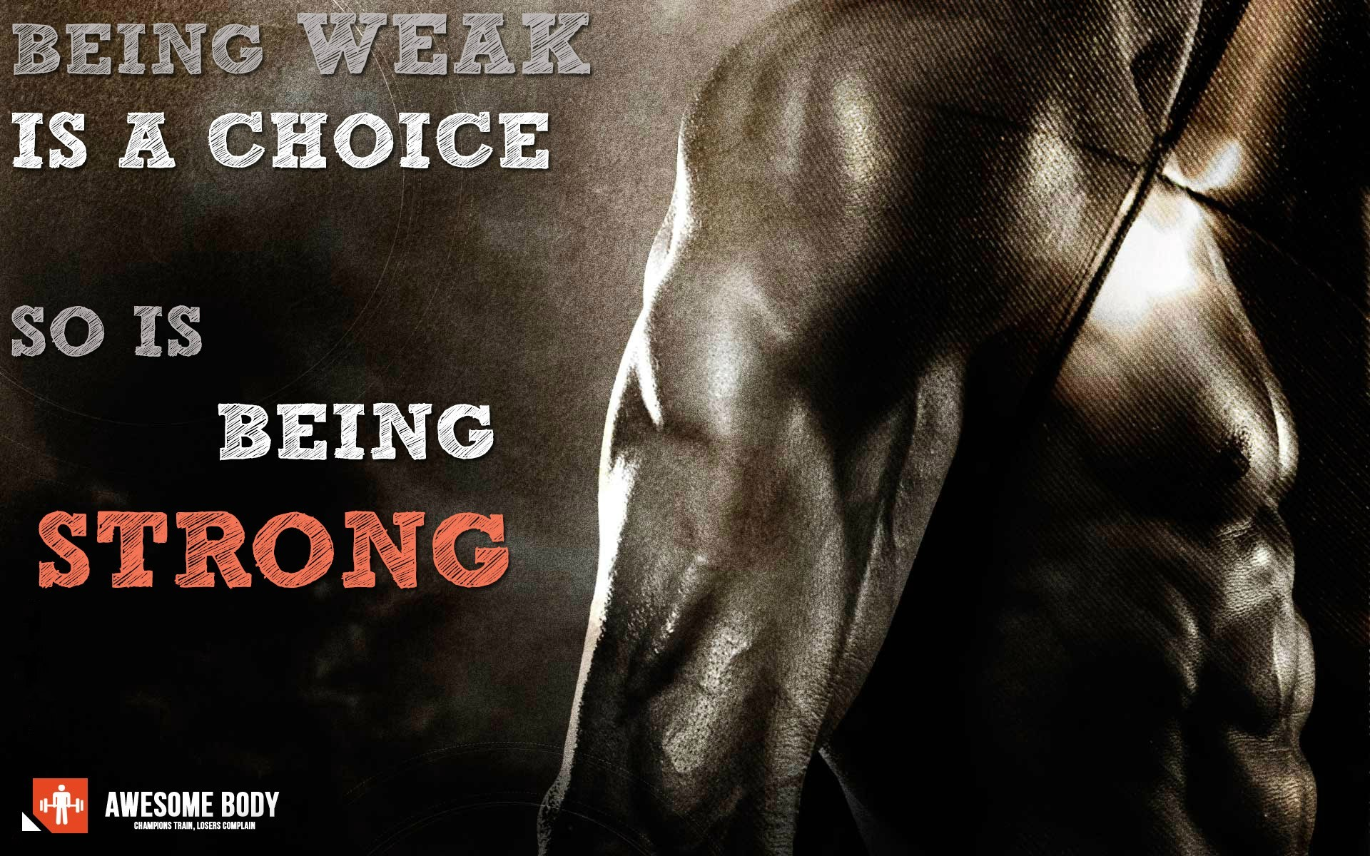 Bodybuilding Motivation Wallpaper Hd