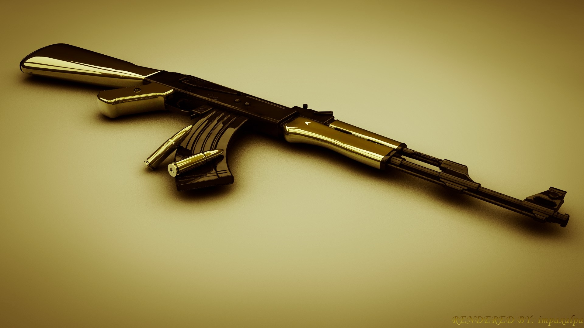 Ak47 Wallpaper 1