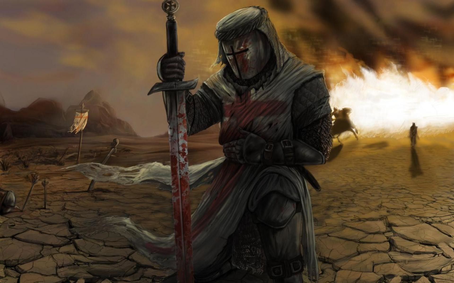 the knights templat - knight templar wallpaper