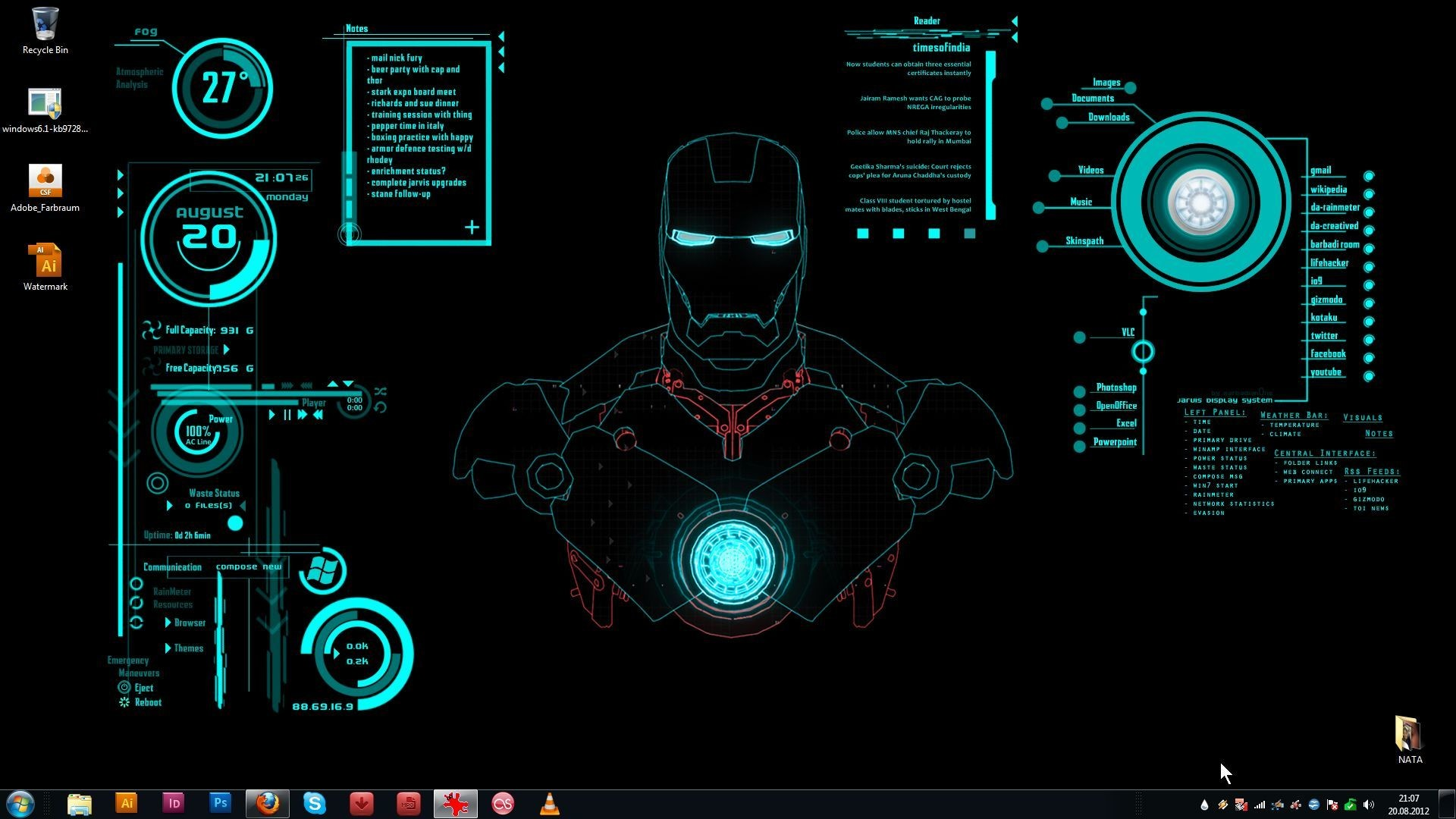 Iron man jarvis wallpapers wallpapertag - Jarvis hd wallpaper for pc ...