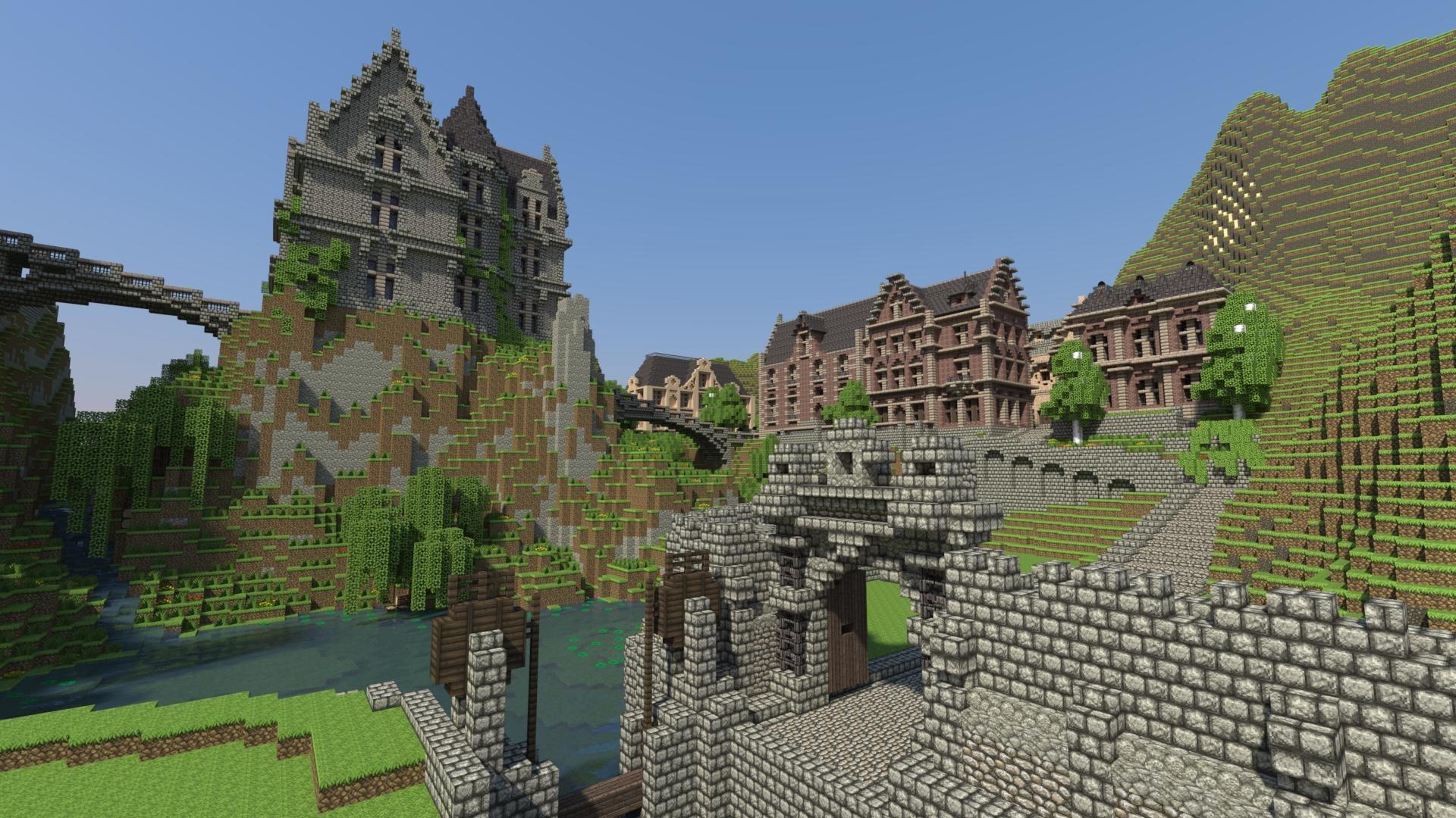 Minecraft Wallpaper 1080p ·① WallpaperTag