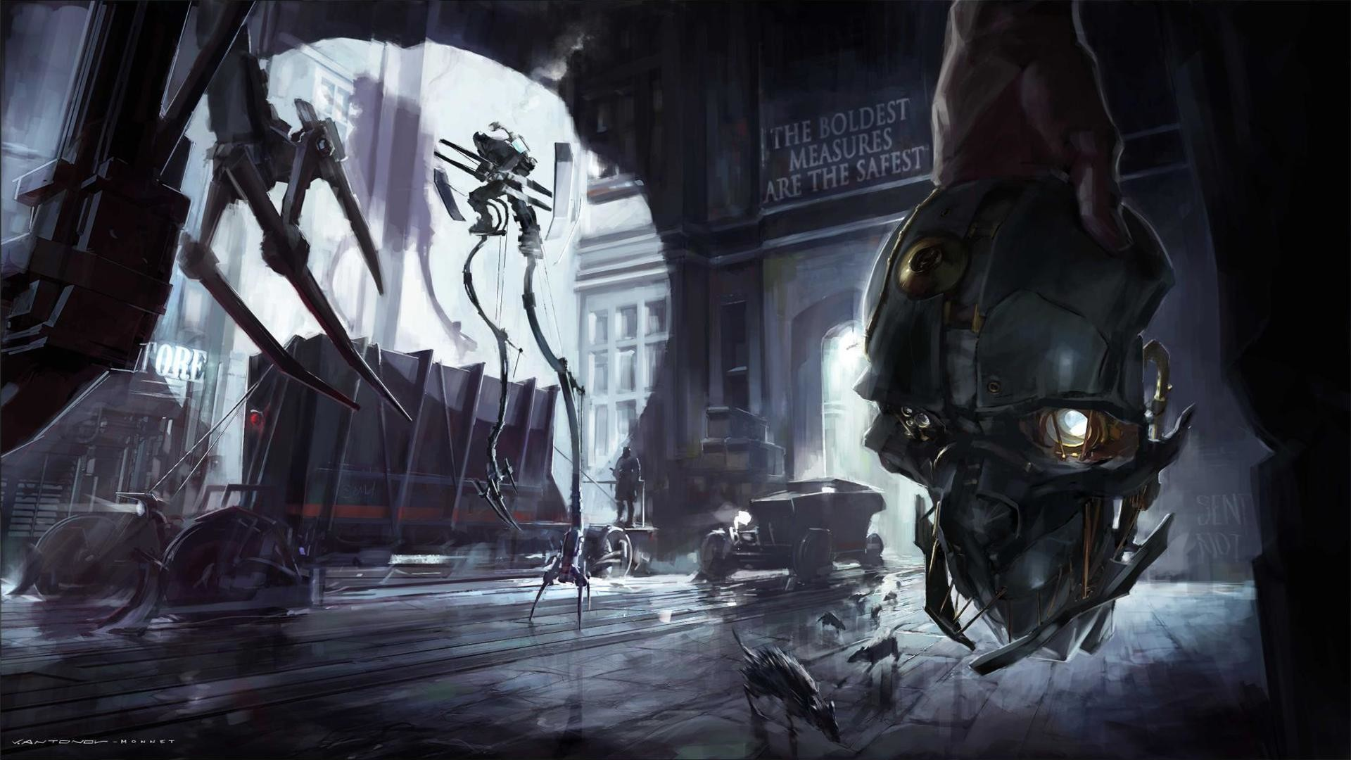 Dishonored Corvo Attano Video games Wallpapers HD Desktop and