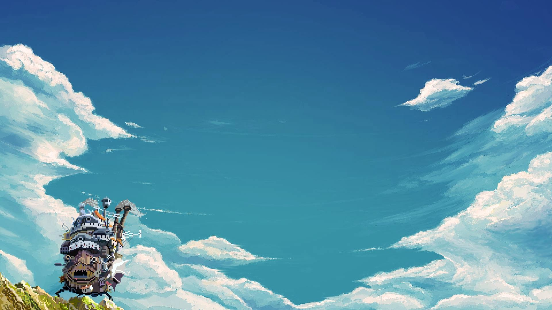 Howls Moving Castle Wallpapers Wallpapertag
