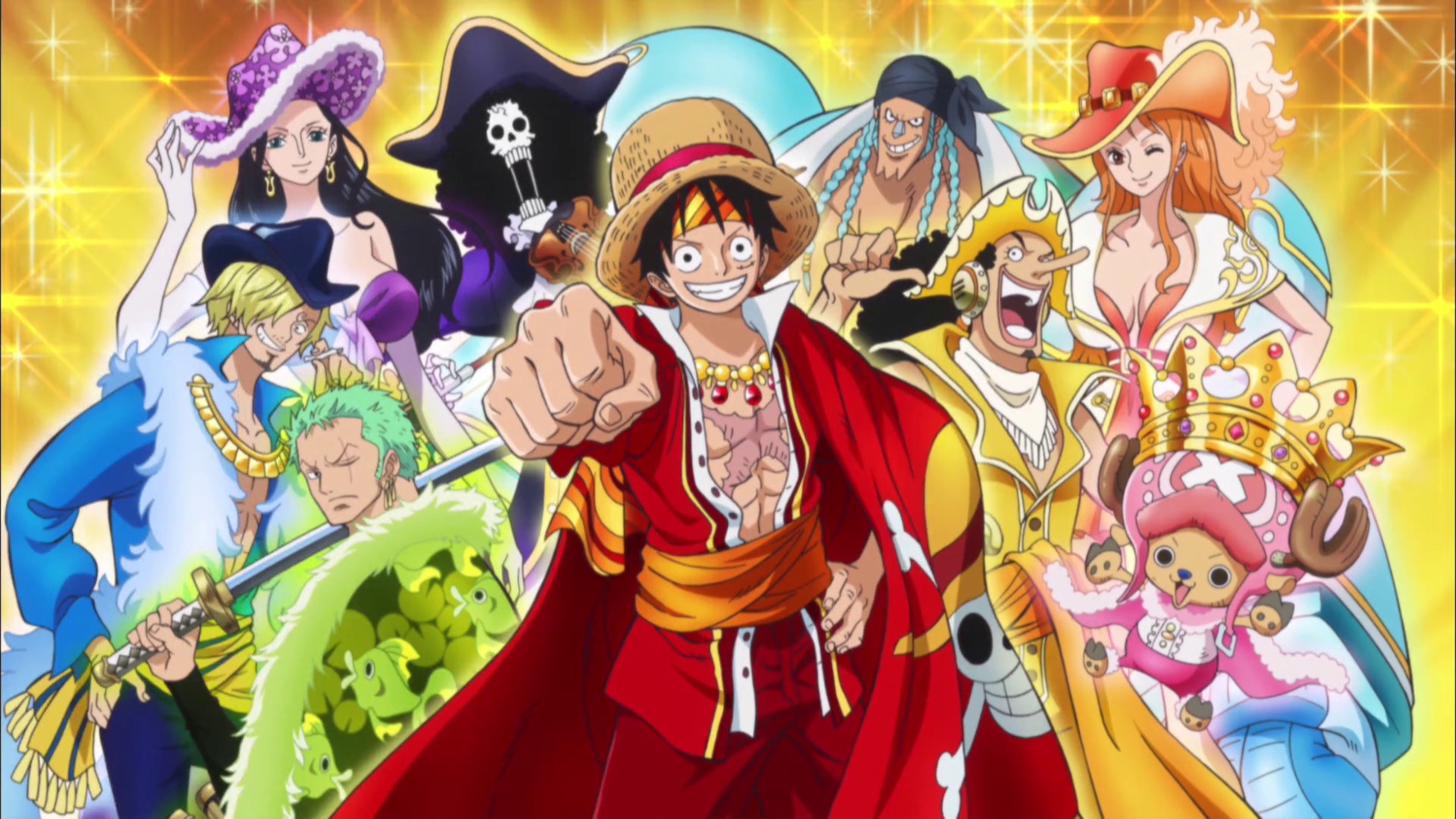 One Piece Crew Wallpaper Wallpapertag