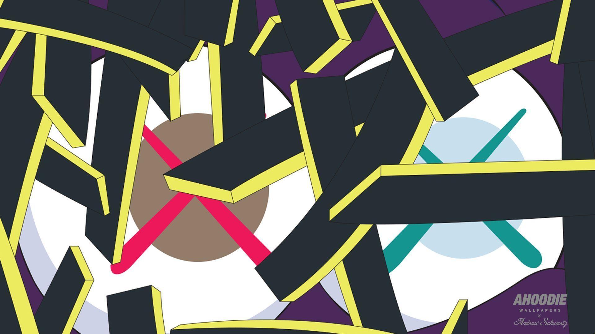 Kaws Wallpaper - ktrdecor.com