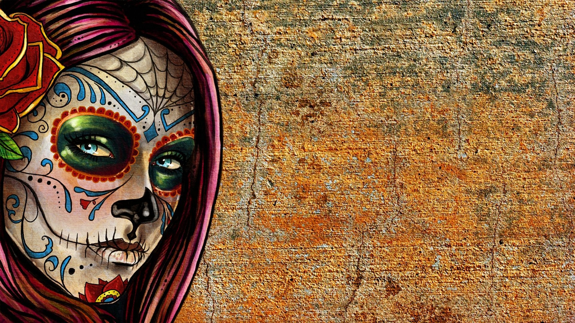 Sugar Skull Wallpaper 1 Download Free Cool Full HD Wallpapers For