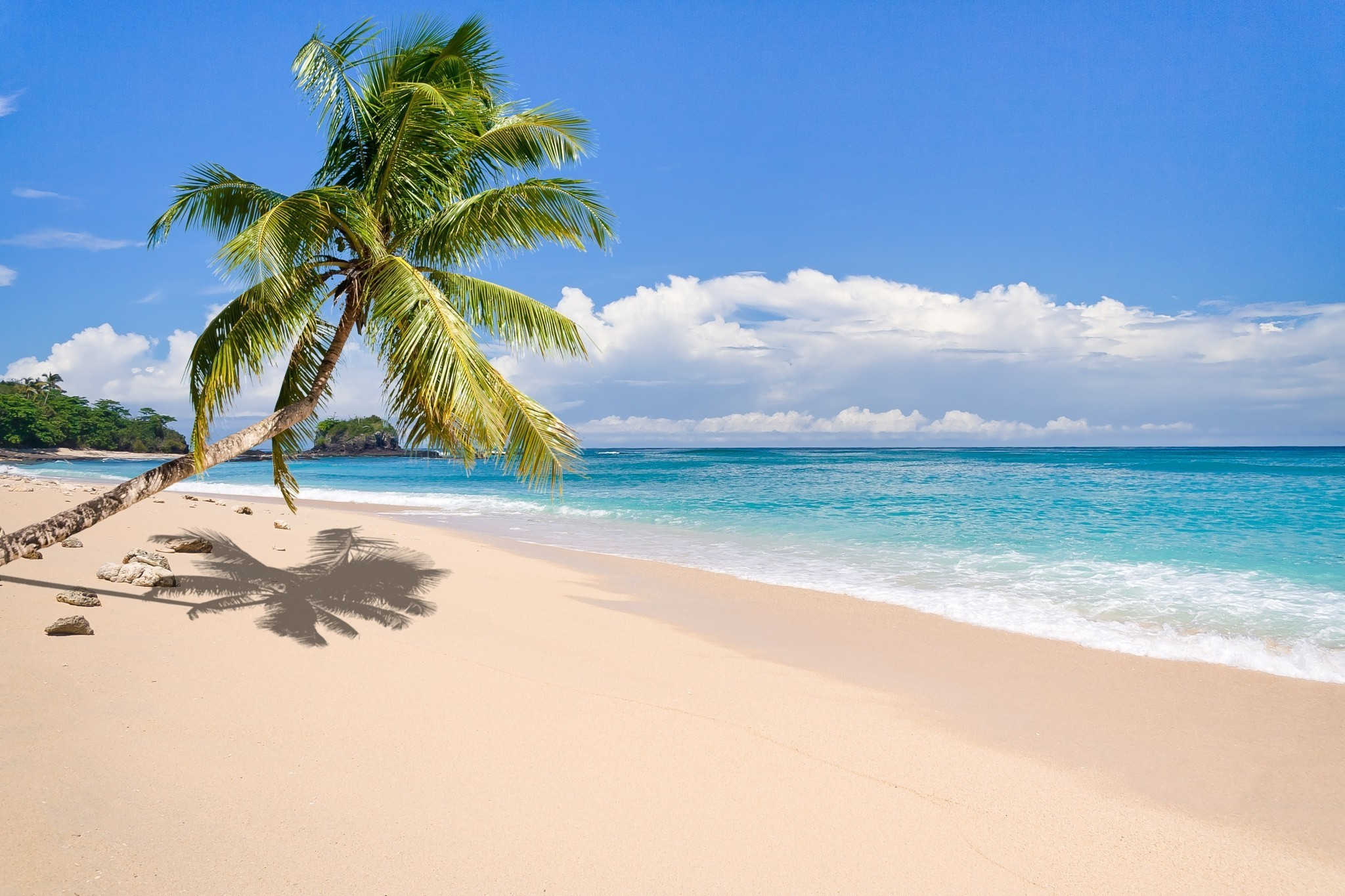 Hd Tropical Island Beach Paradise Wallpapers And Backgrounds: Tropical Island Background ·① WallpaperTag
