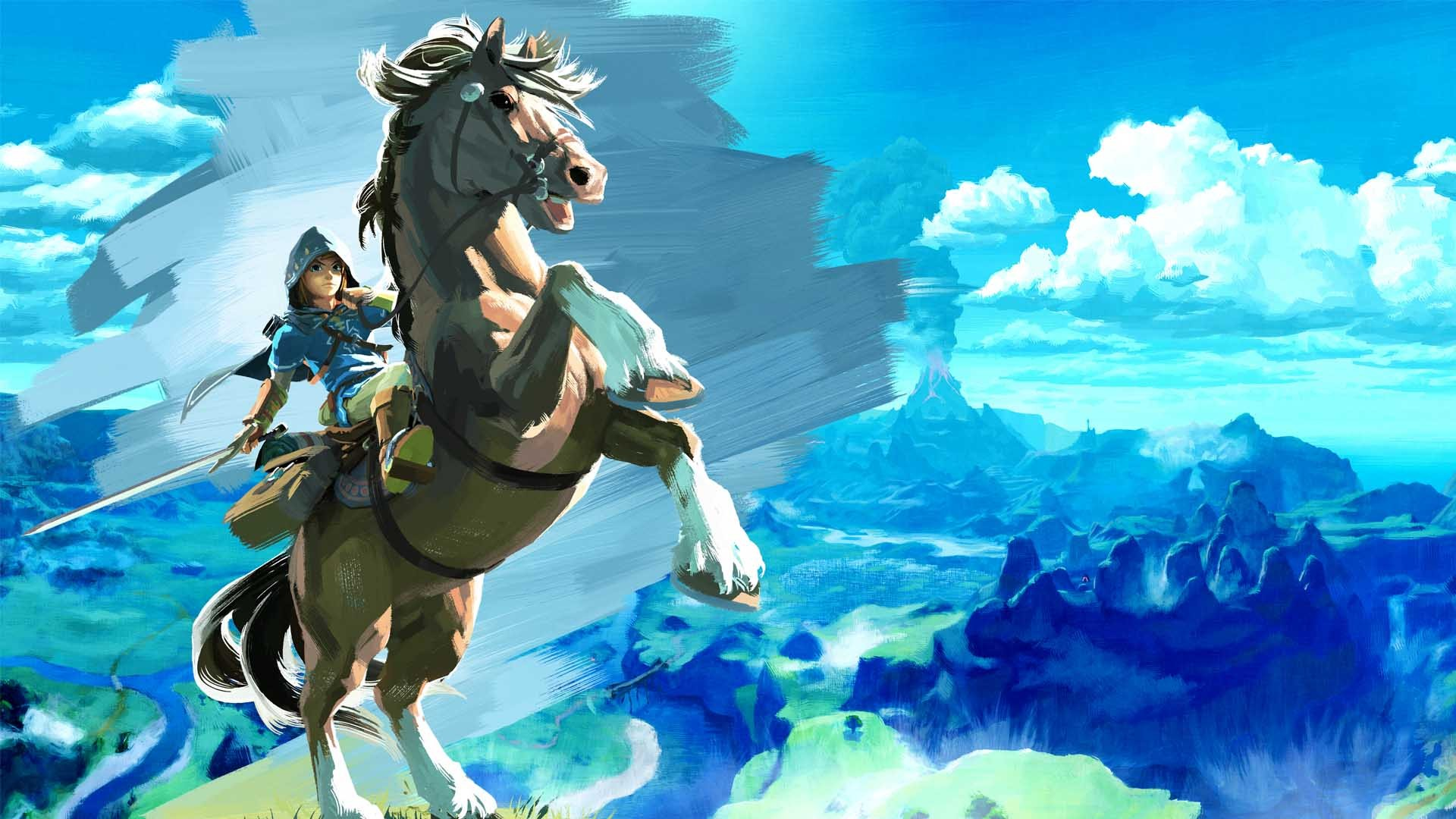 Breath Of The Wild Background Download Free High Resolution