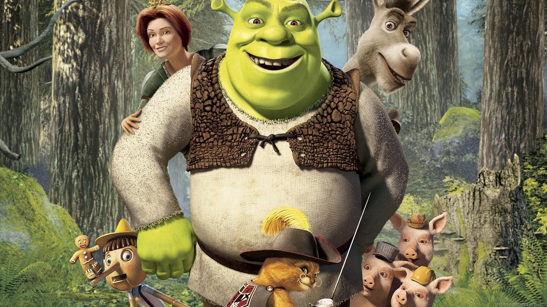 Shrek 2 Wallpaper ·①