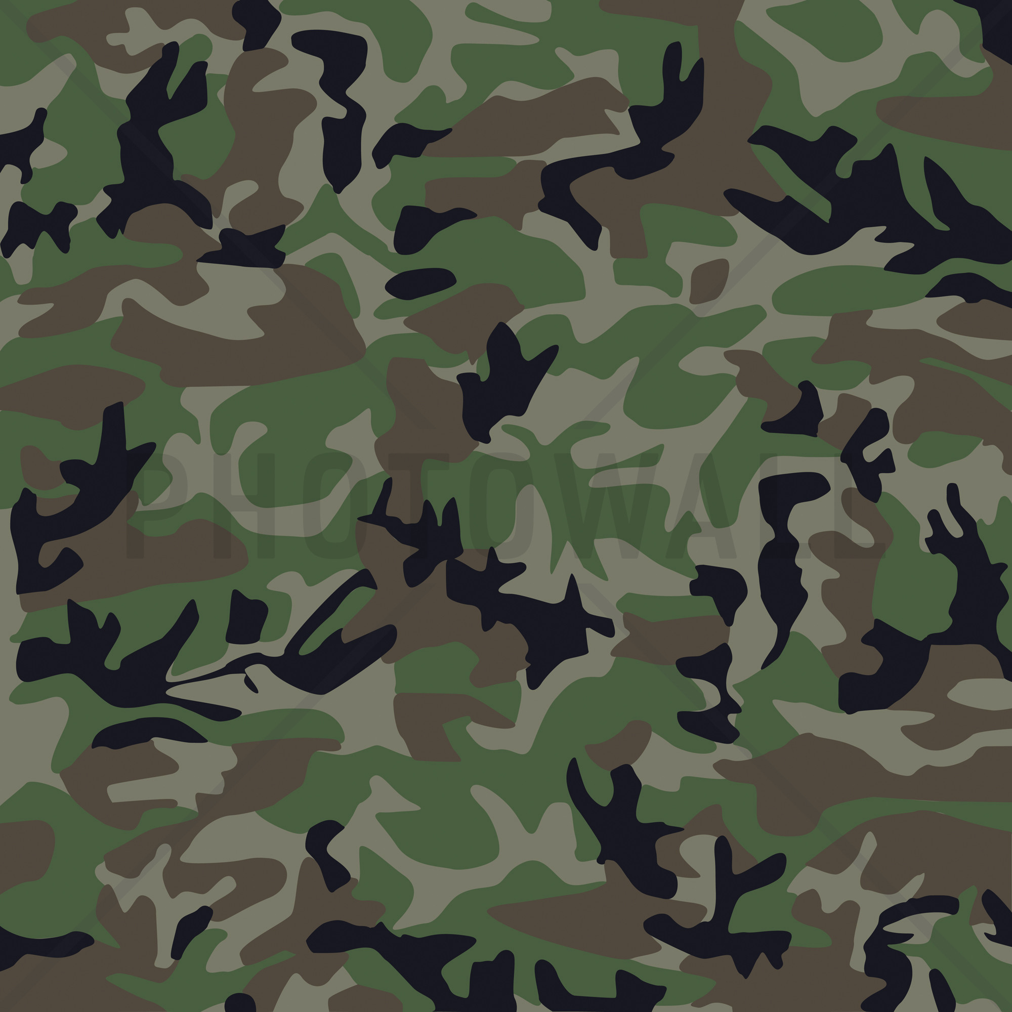 Camouflage Wallpapers: Woodland Camo Wallpaper ·①