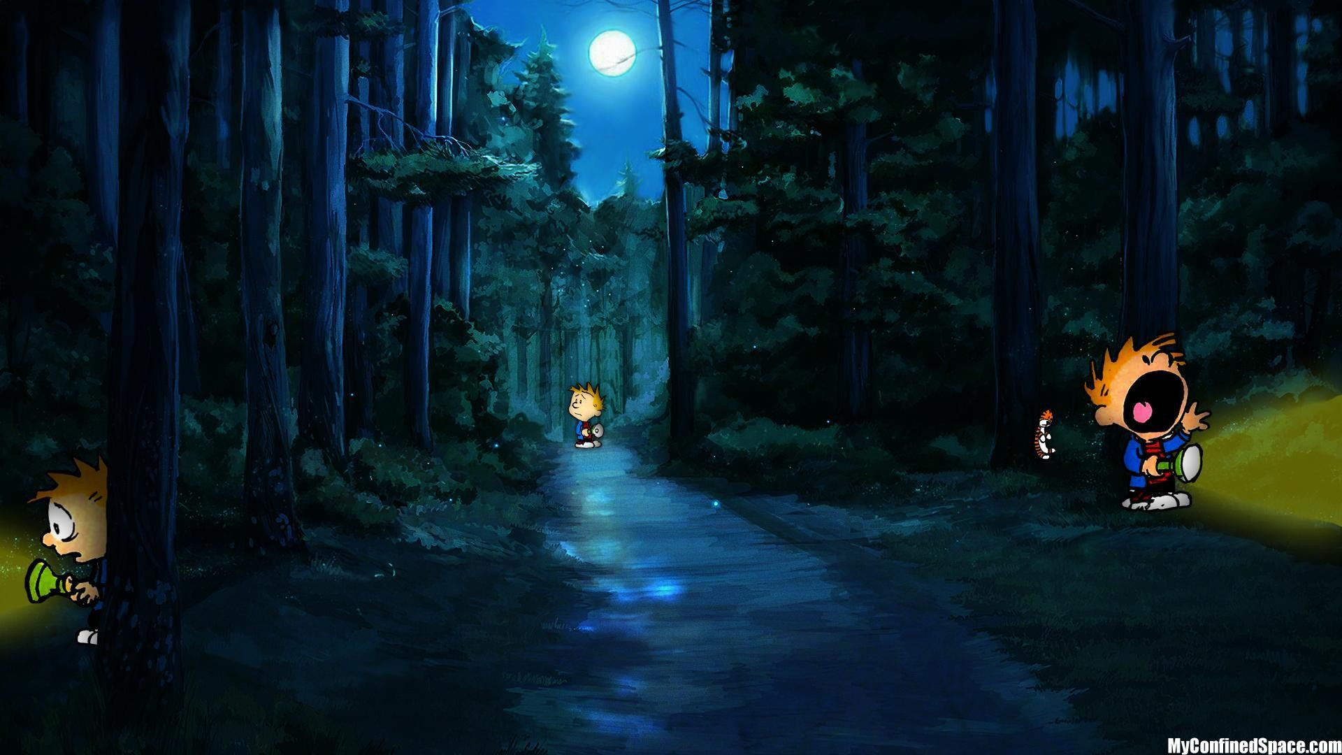 In the forests of the night book trailer software