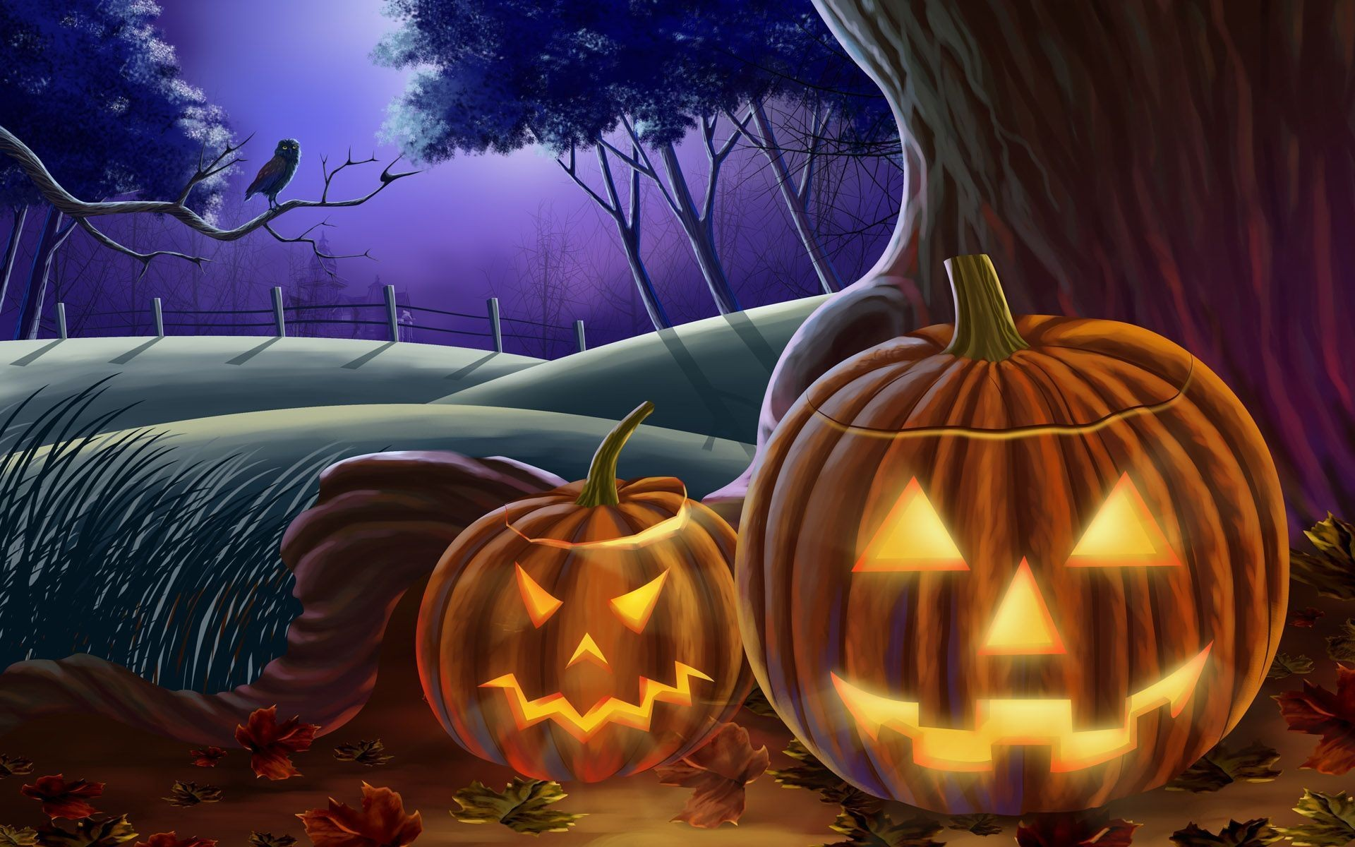 1920x1200 happy halloween wallpaper 47 backgrounds wallruru