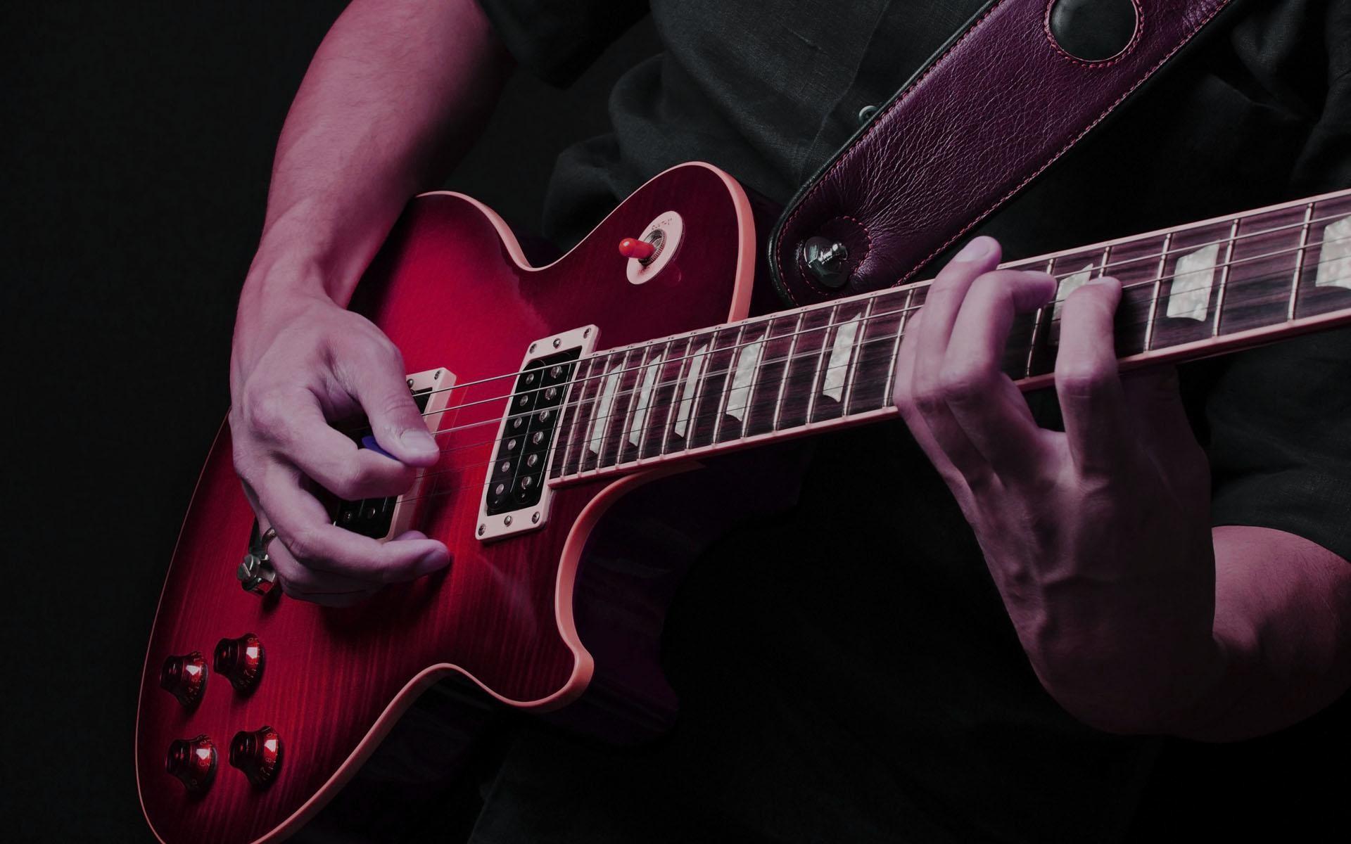electric guitar wallpaper â