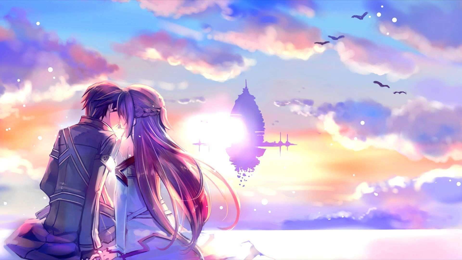 Anime Love Wallpaper Wallpapertag