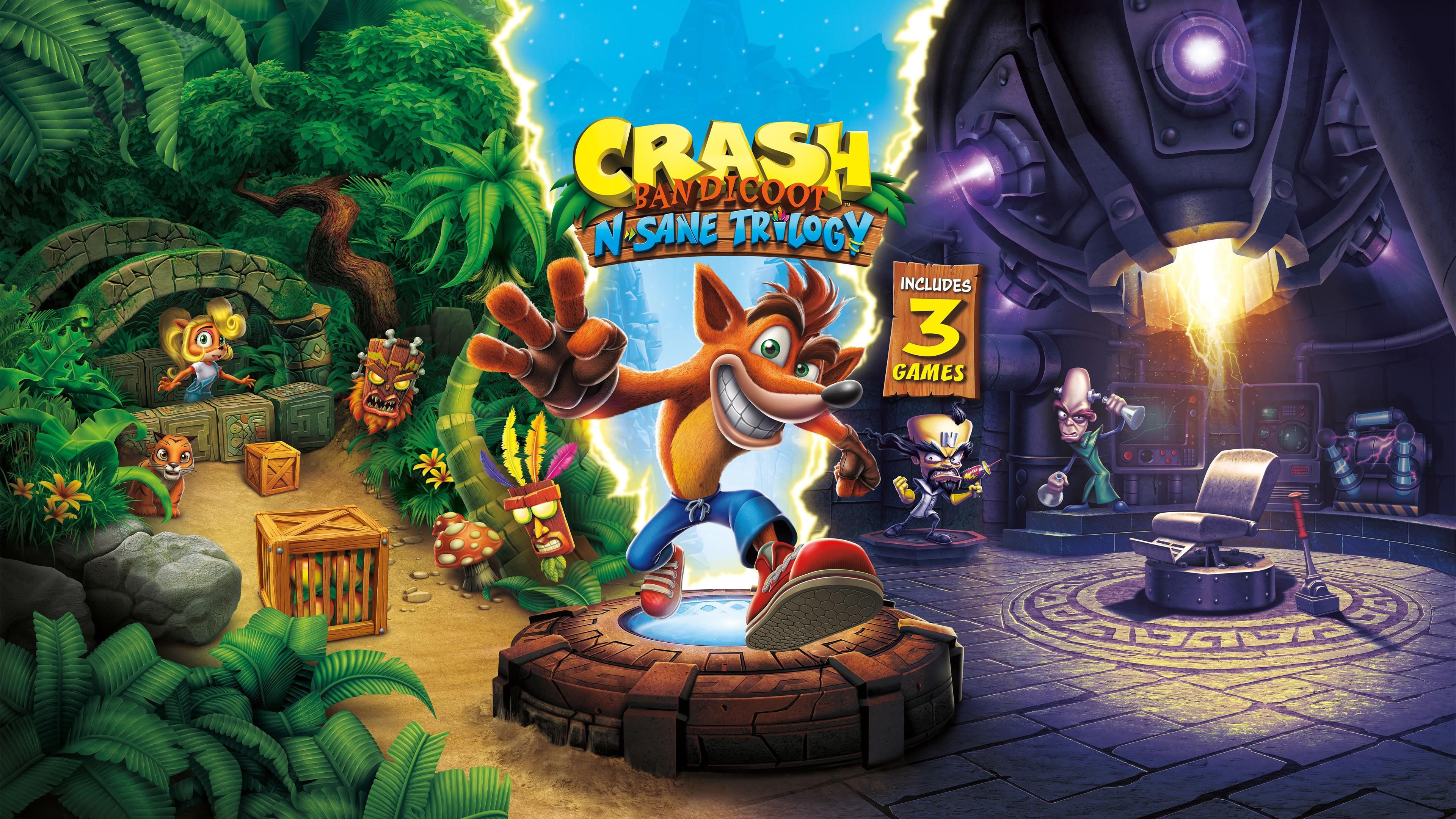 Crash Bandicoot wallpaper ·① Download free High Resolution ...