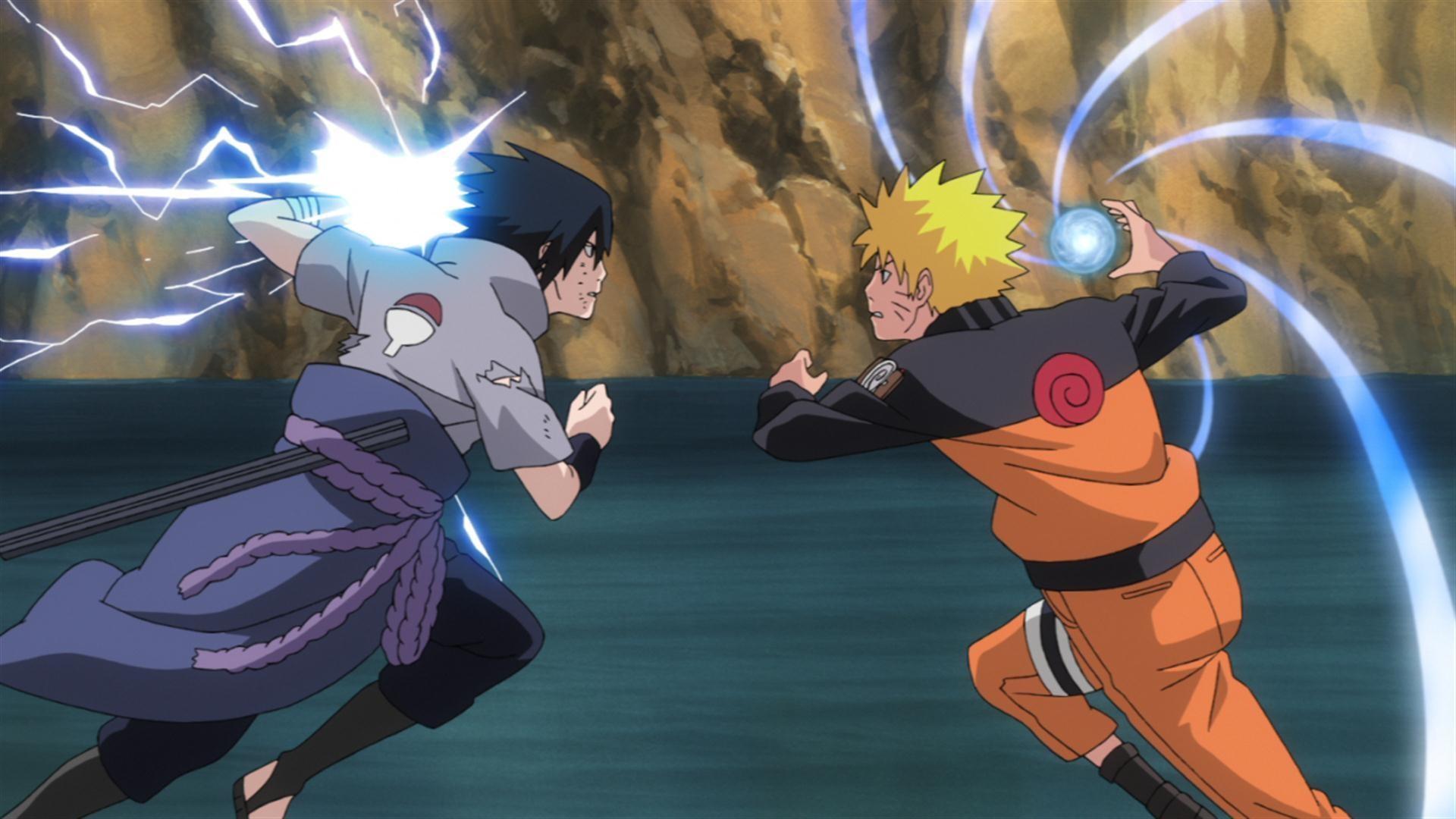 Sasuke And Naruto Wallpaper Wallpapertag