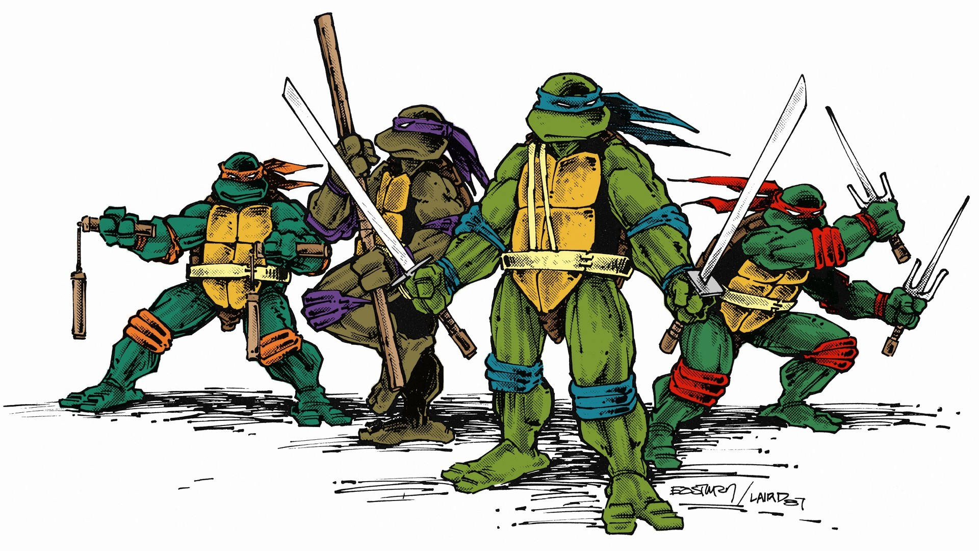 Ninja Turtle Wallpaper Wallpapertag