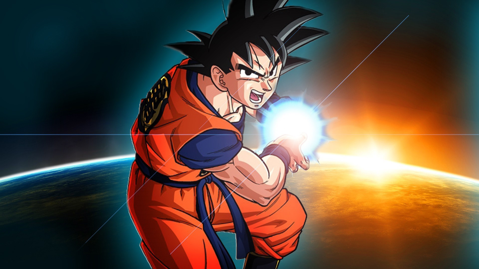 Dbz Goku Wallpapers Wallpapertag