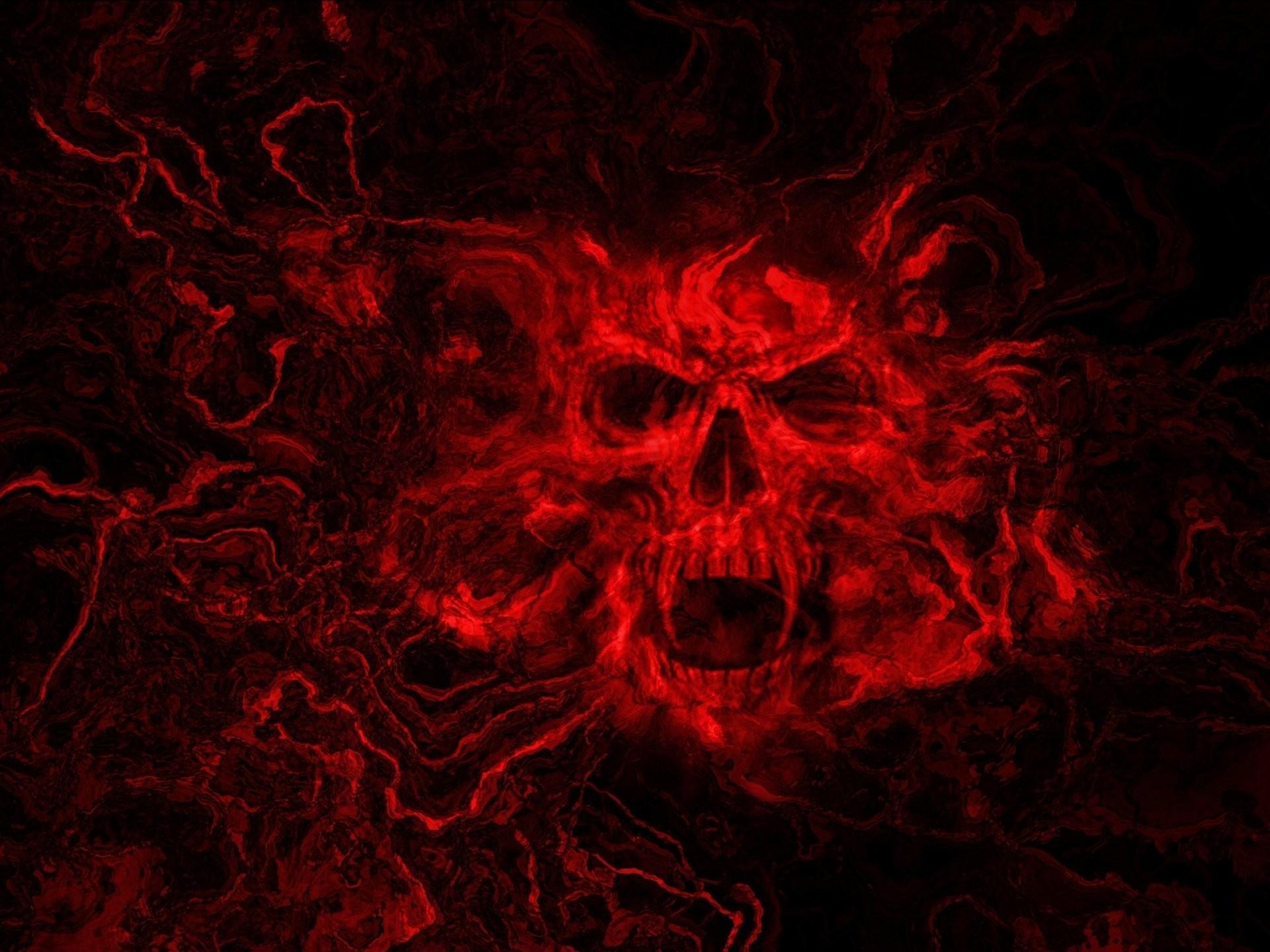 Evil Skulls Wallpaper Wallpapertag