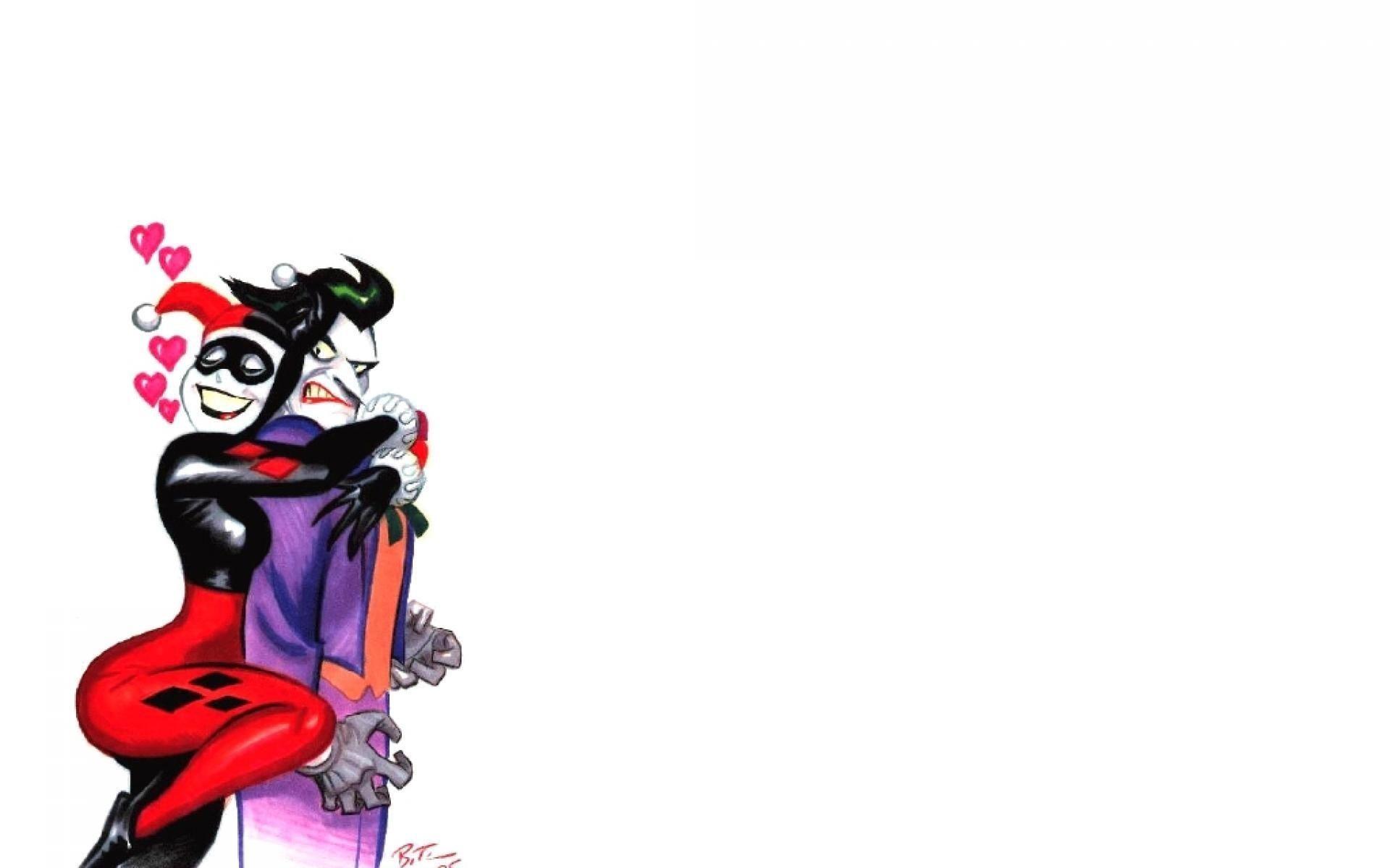 Joker and Harley Quinn Wallpaper ·①