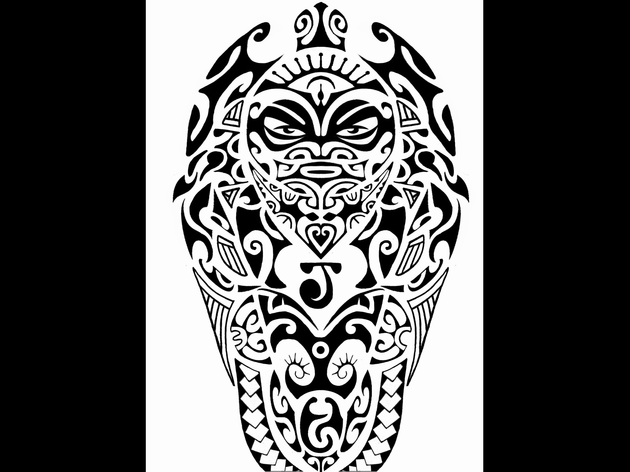 polynesian tribal wallpaper. Black Bedroom Furniture Sets. Home Design Ideas