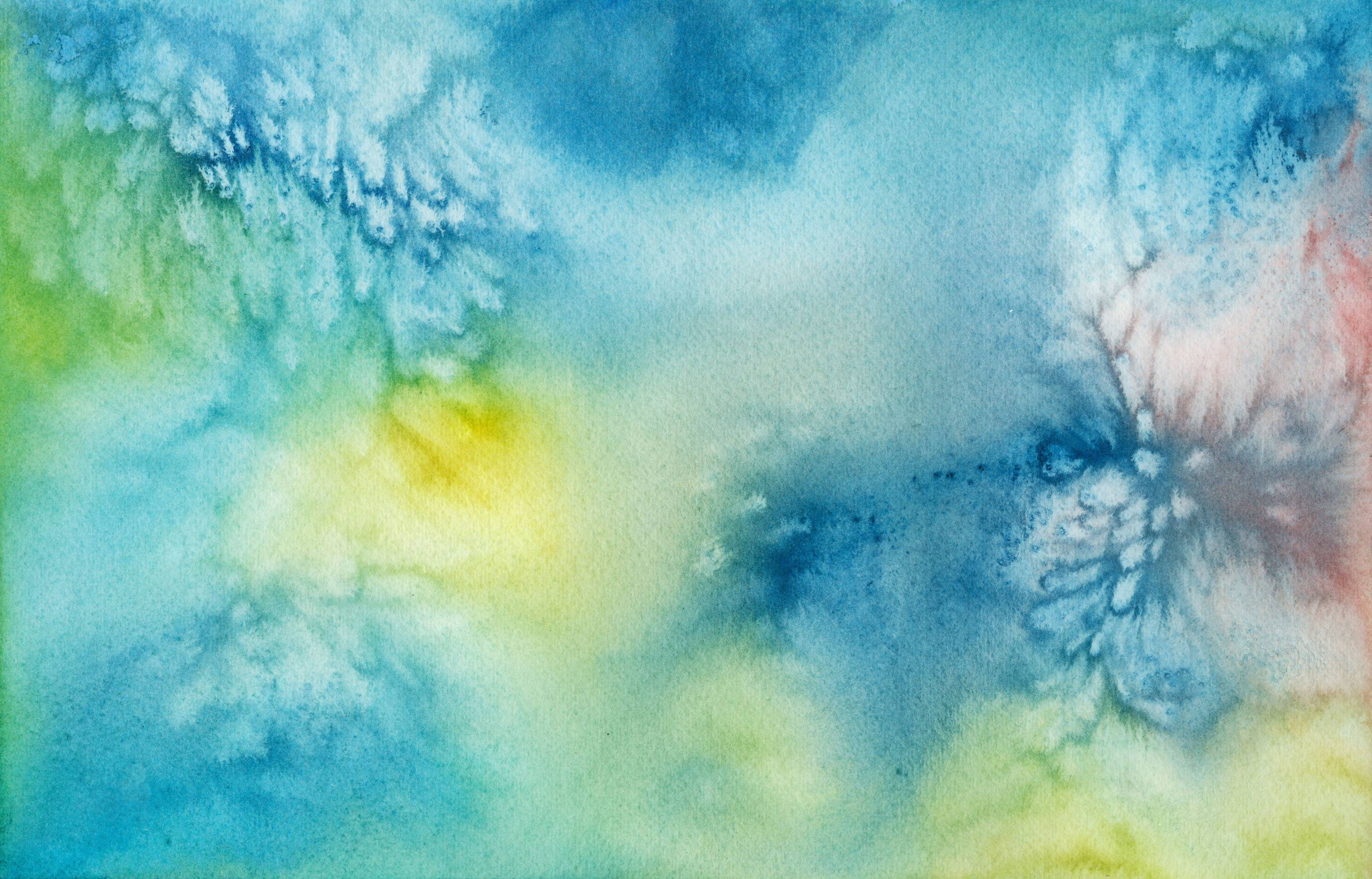 Blue Watercolor background ·① Download free stunning HD ...