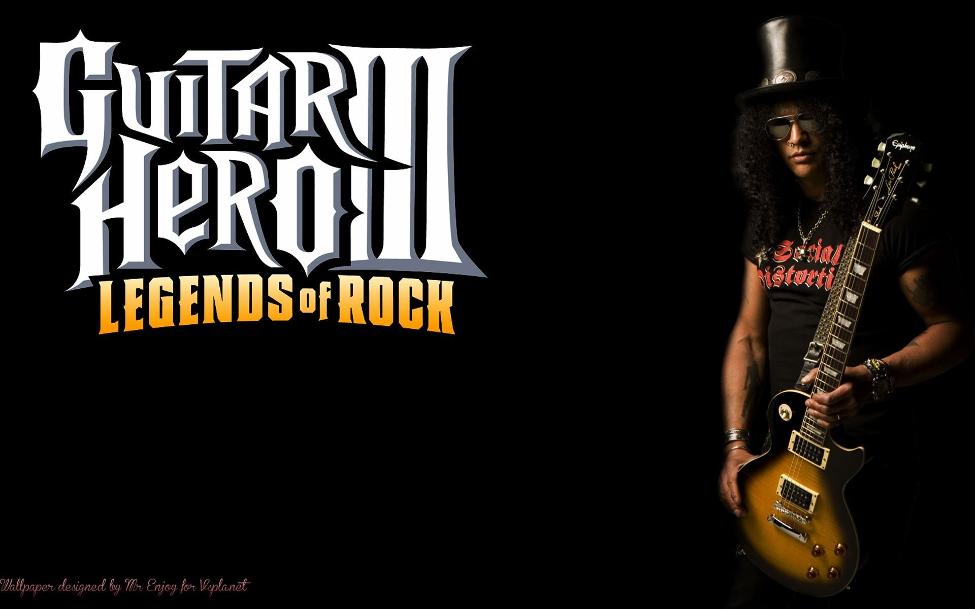 Slash guitar wallpaper wallpapertag - Guitar hero 3 hd ...
