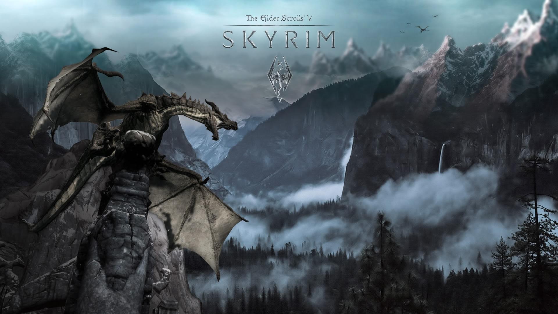 skyrim wallpaper hd ·① download free stunning high resolution
