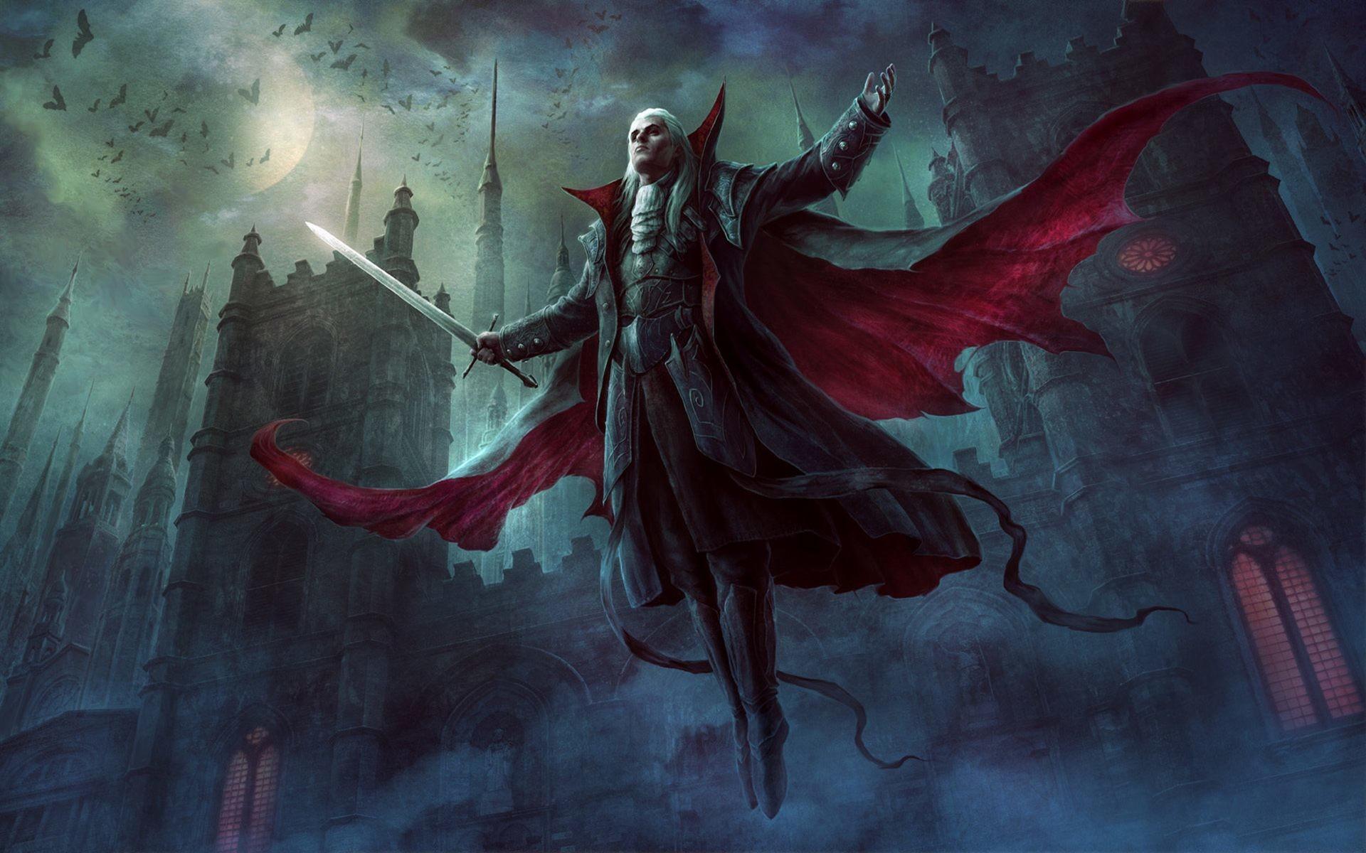 Evil vampire wallpaper hd