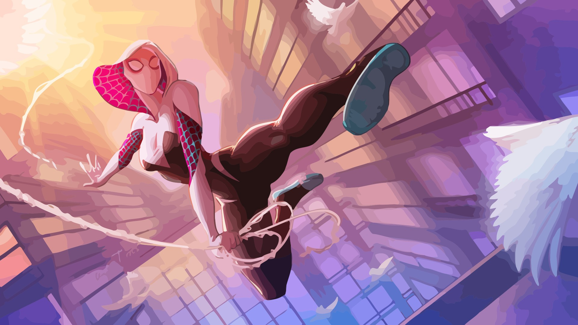 Spider Gwen wallpaper ·① Download free cool High ...