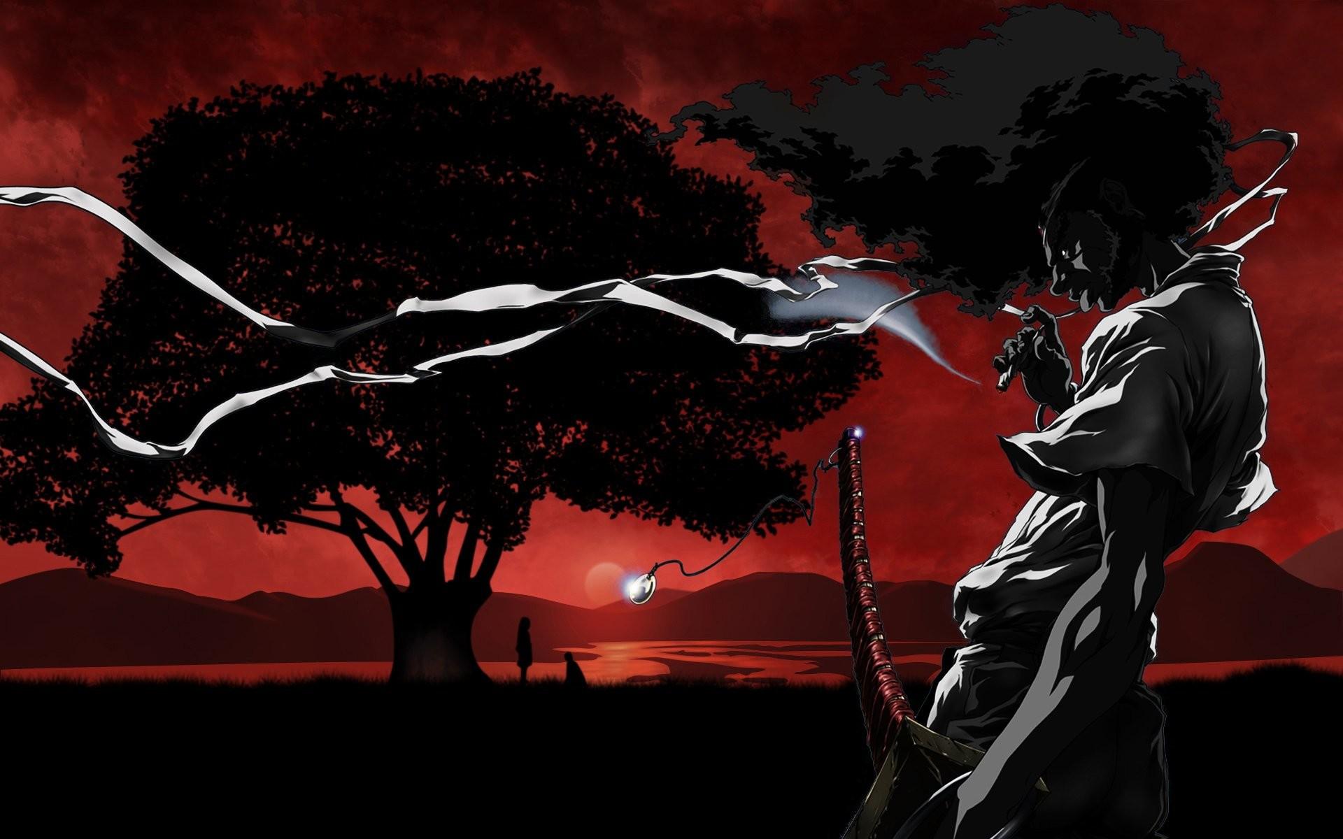 Afro Samurai Wallpaper Hd Wallpapertag