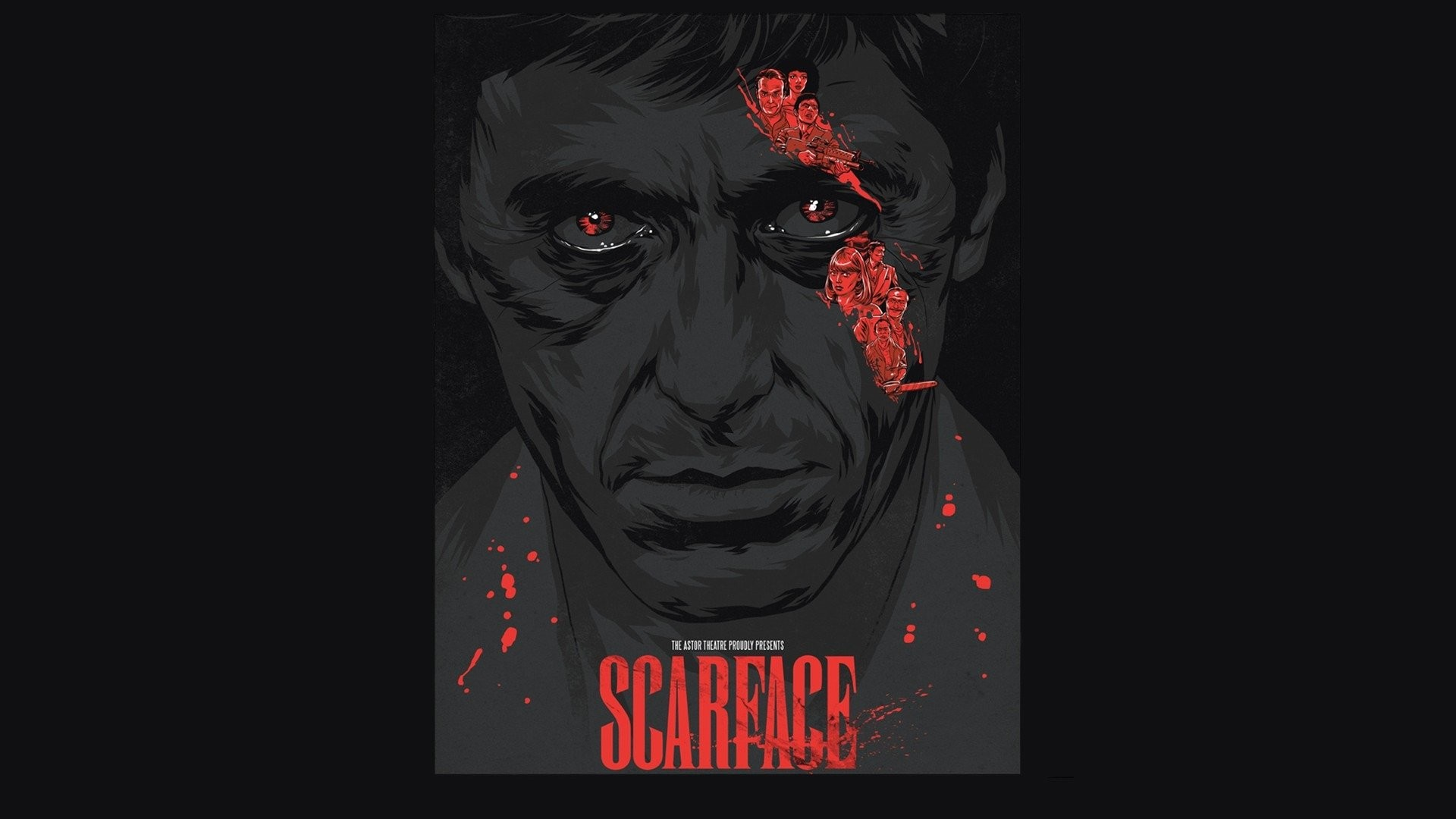 Scarface hd wallpapers wallpapertag - Scarface background ...