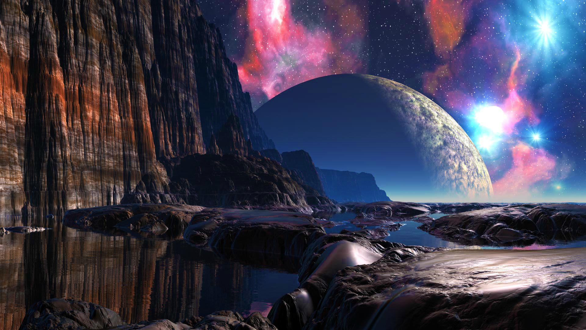 Fantasy World Ipad Wallpaper: Fantasy Planet Wallpaper ·① WallpaperTag