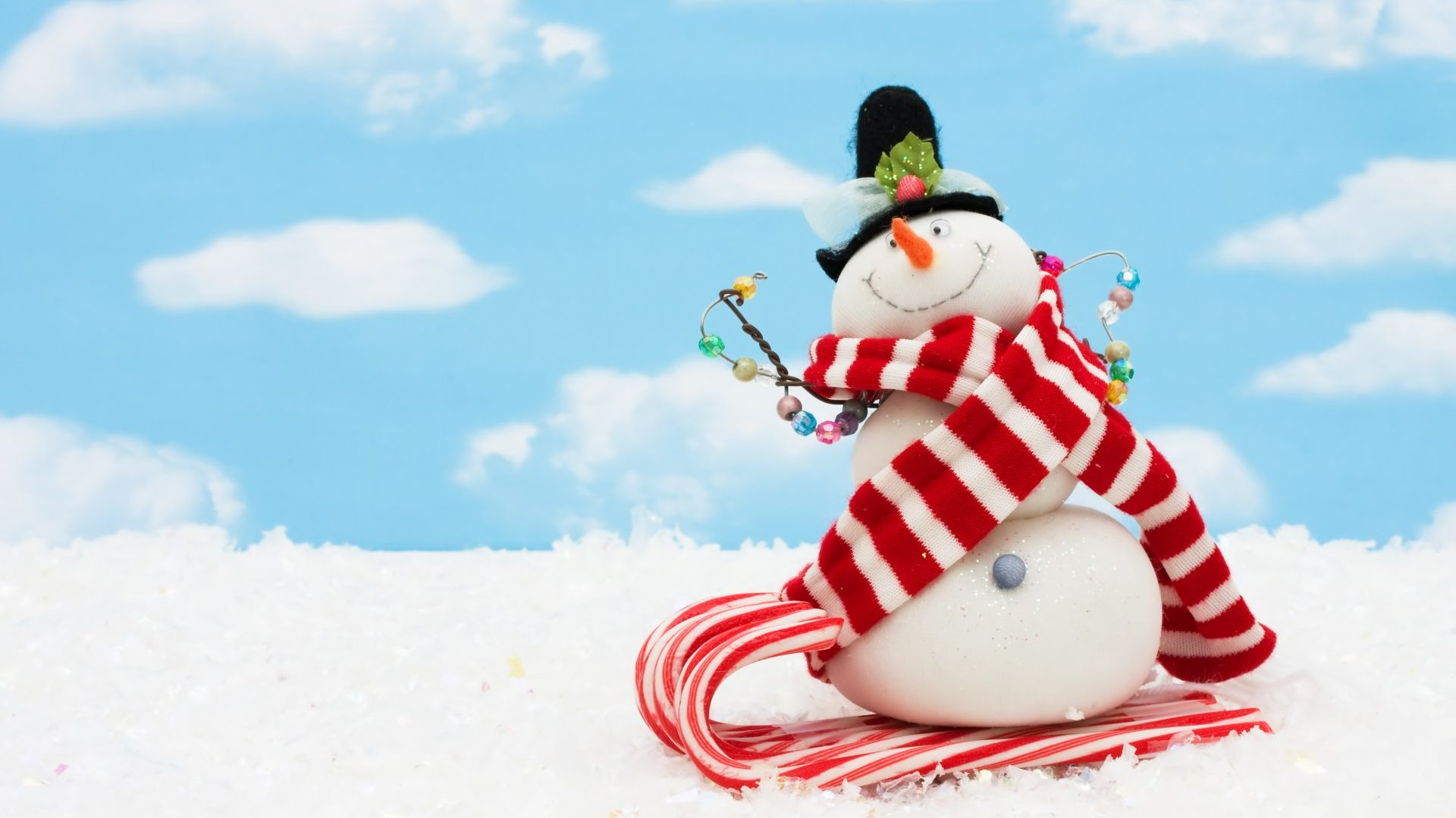 Cute snowman wallpaper - Free funny christmas desktop wallpaper ...