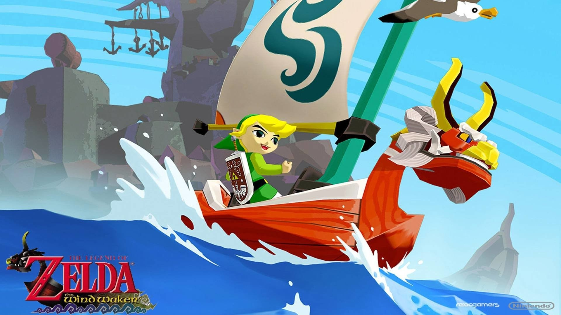 The Legend Of Zelda The Wind Waker Hd Wallpapers Wallpapertag