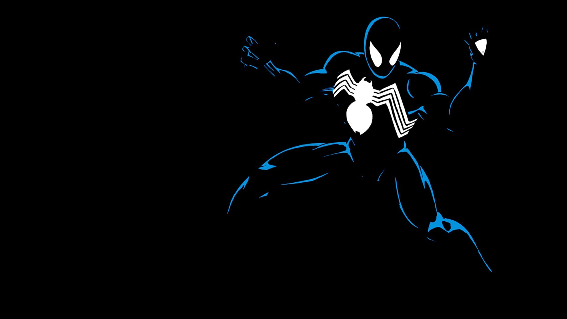 symbiote spiderman wallpaper ·①