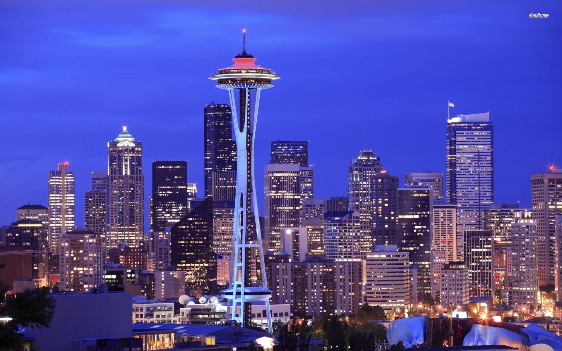 Seattle Skyline Wallpaper ·â'
