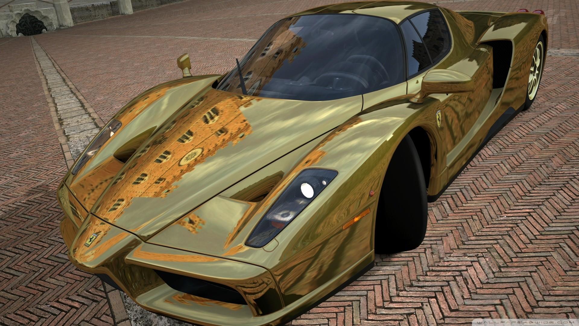 Wonderful 1920x1080 Ferrari Enzo Side Fire Abstract Car 2014 HD