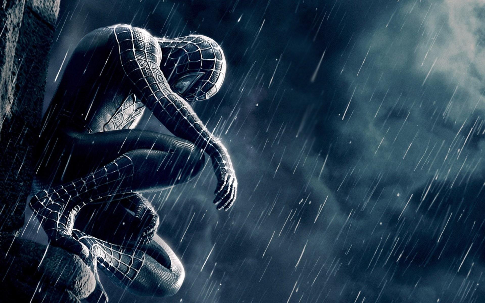 black spiderman wallpaper 183��