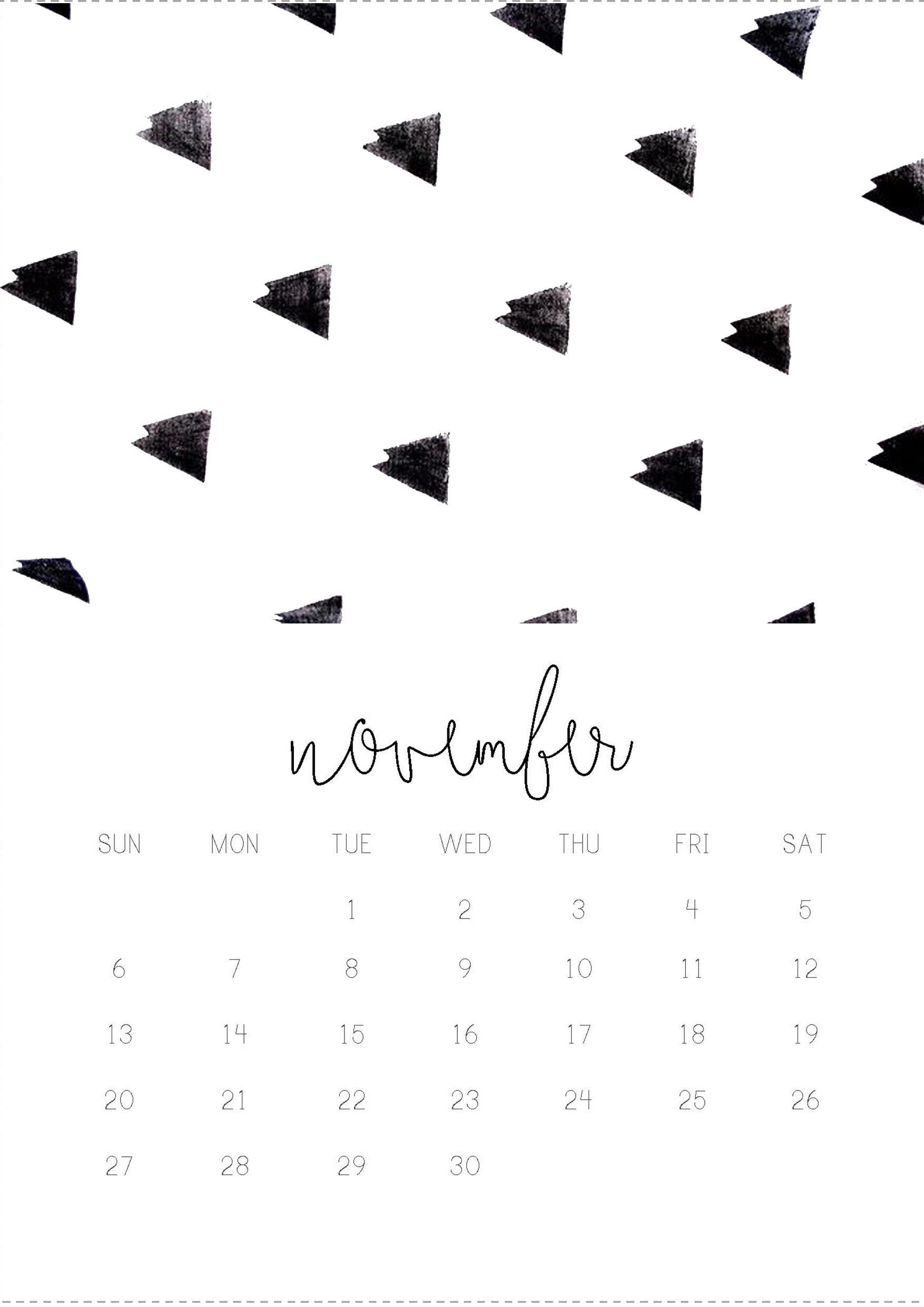 Desktop Wallpapers Calendar November 2018 ·① WallpaperTag
