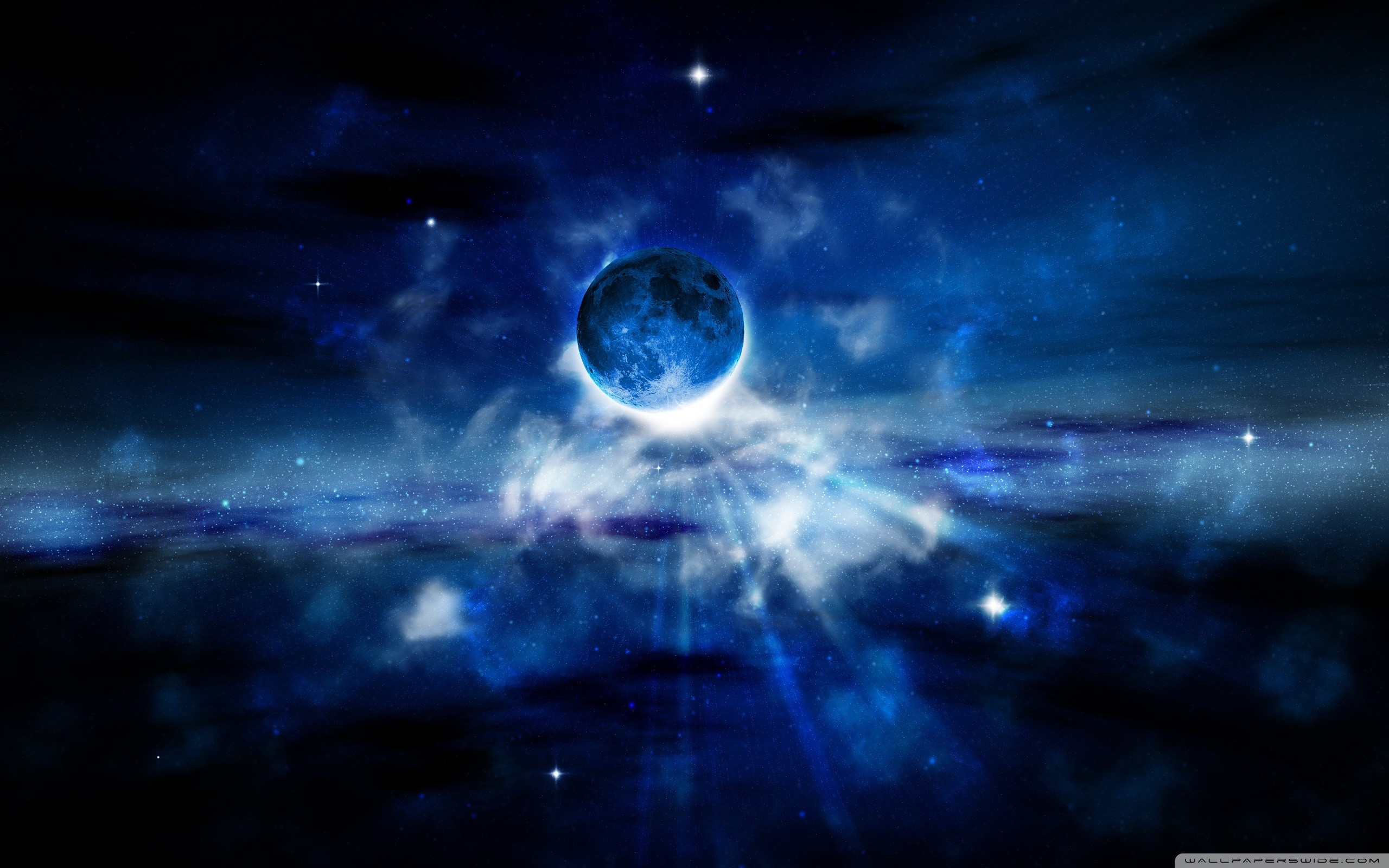 Blue Moon Wallpaper Wallpapertag
