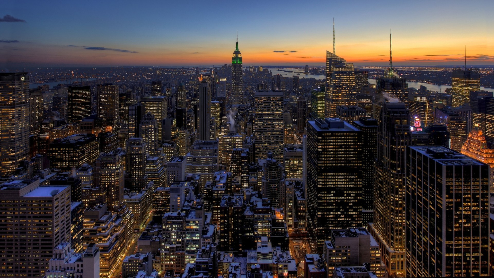 New York City Skyline Wallpapers ①