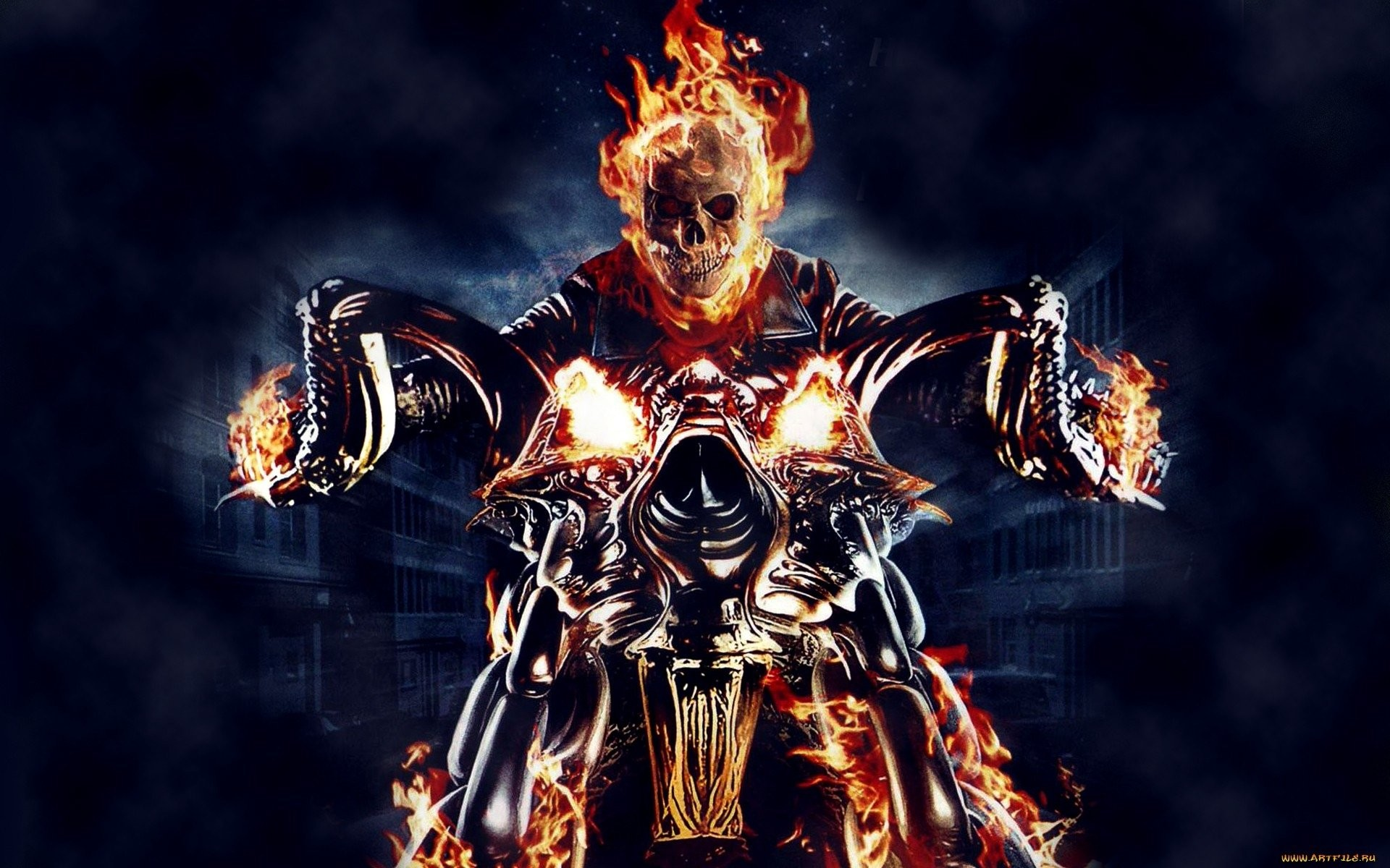 1920x1200 Ghost Rider A HD Wallpaper